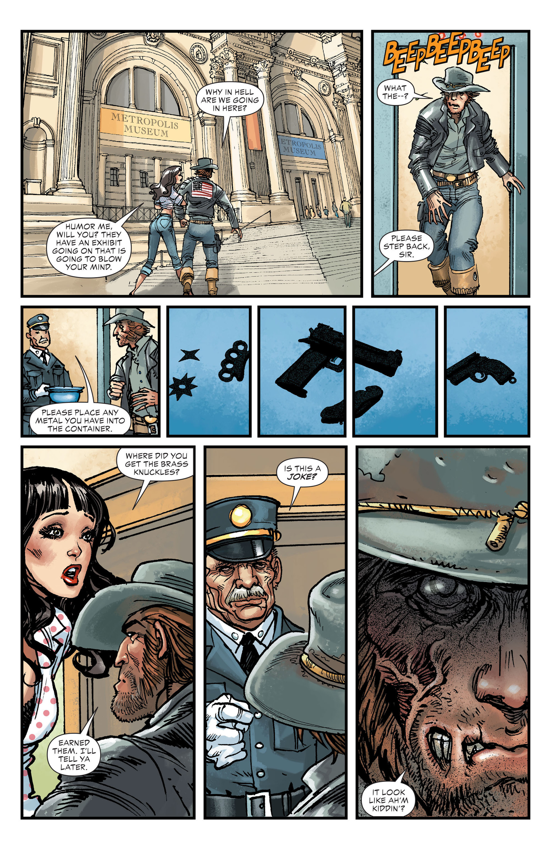 Read online All-Star Western (2011) comic -  Issue #27 - 10