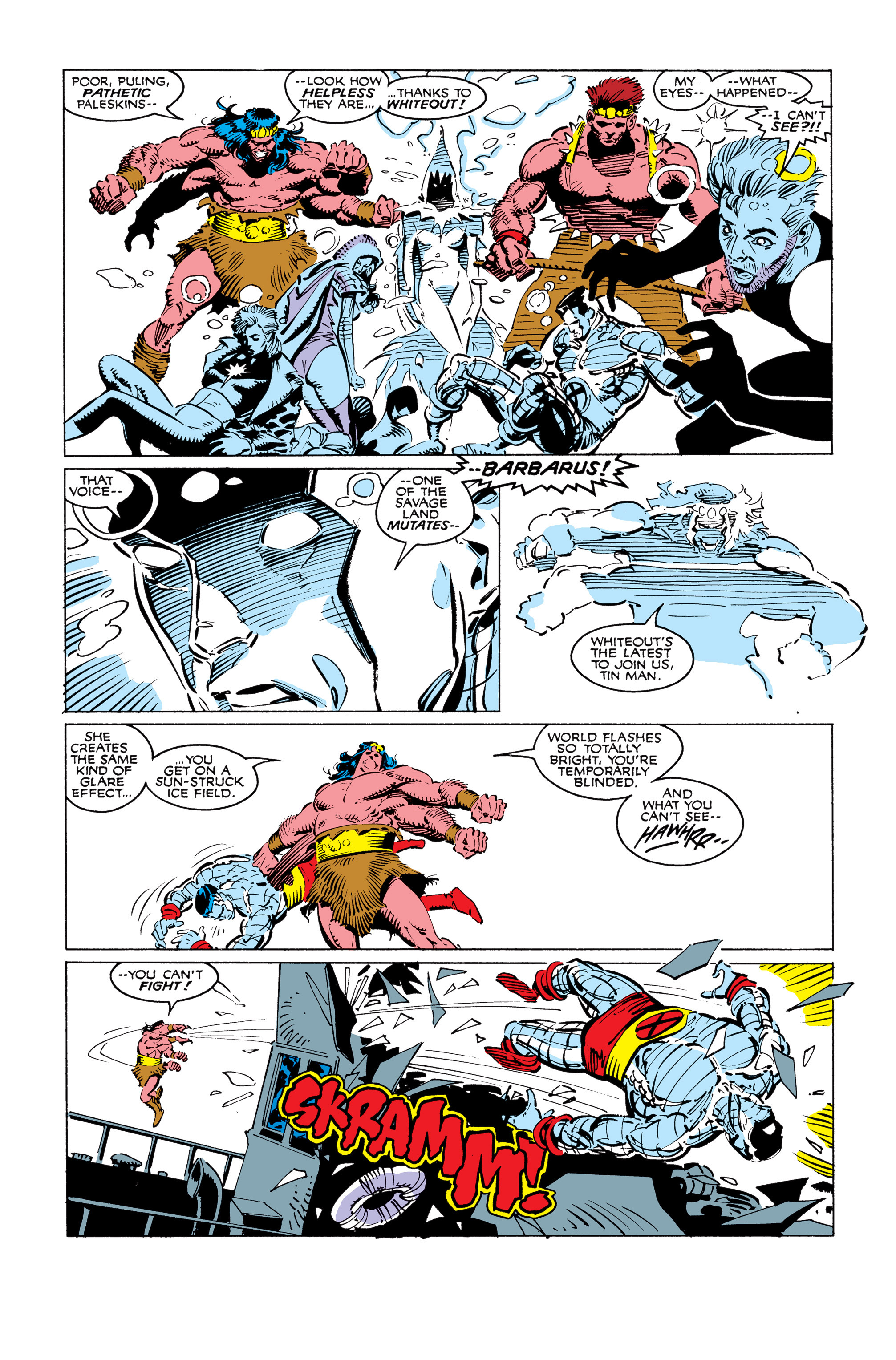Read online Uncanny X-Men (1963) comic -  Issue #249 - 18