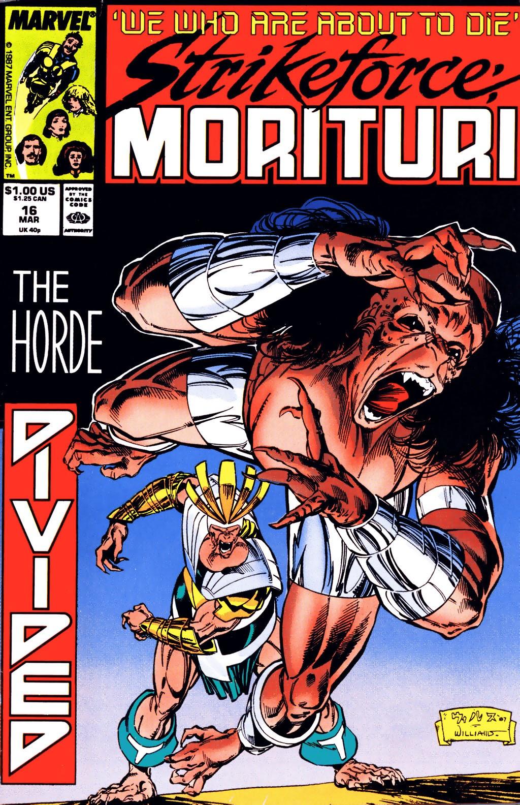 Strikeforce: Morituri 16 Page 1