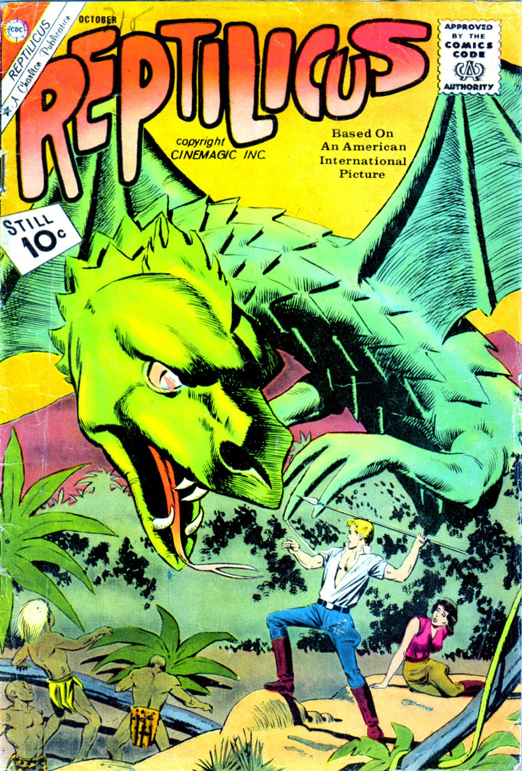 Reptilicus 2 Page 1
