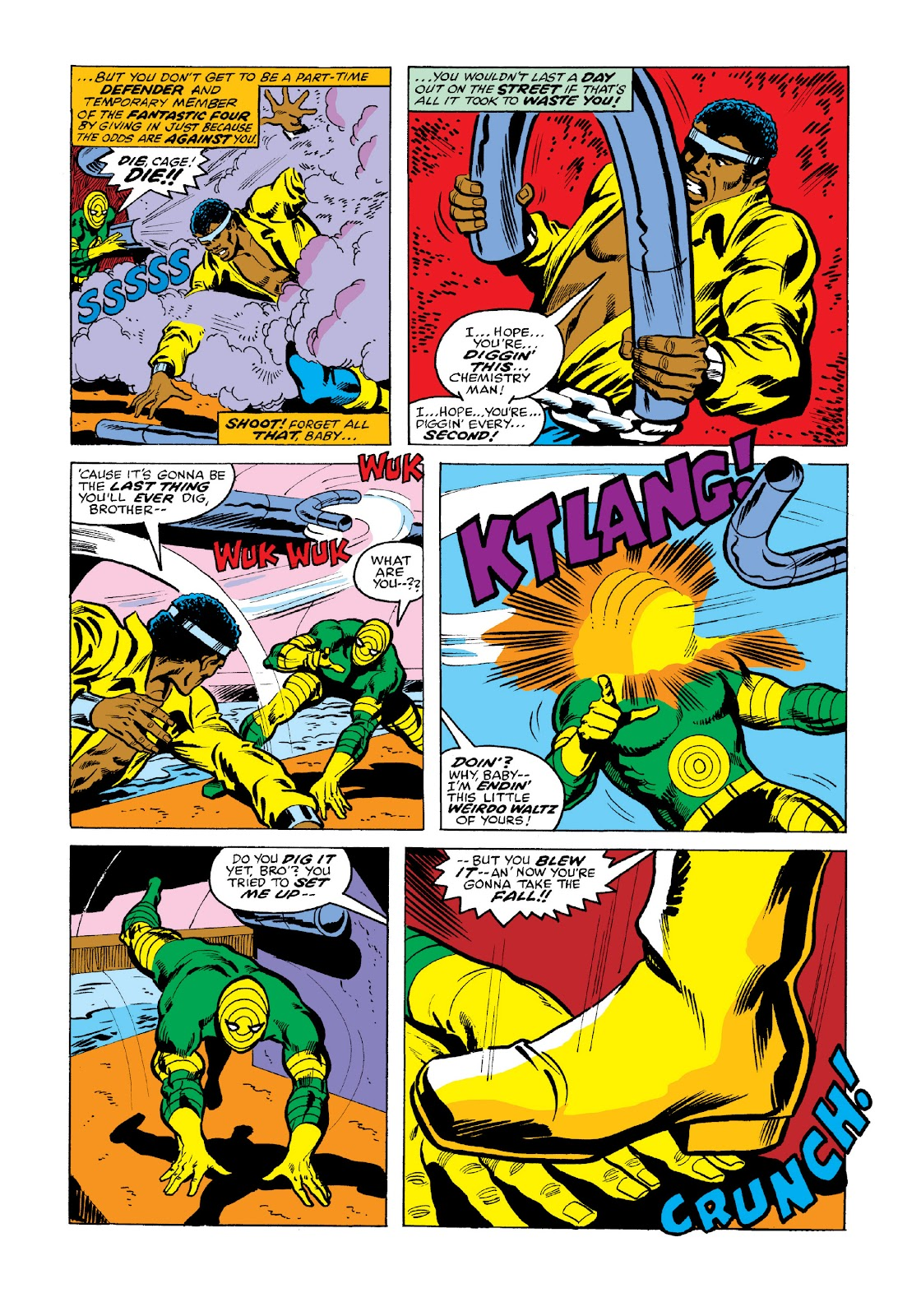 Read online Marvel Masterworks: Luke Cage, Power Man comic -  Issue # TPB 3 (Part 2) - 48