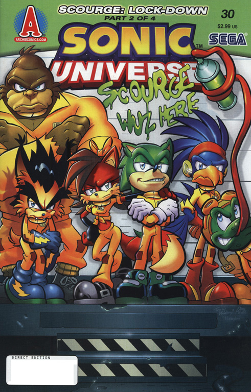 Read online Sonic Universe comic -  Issue #30 - 1