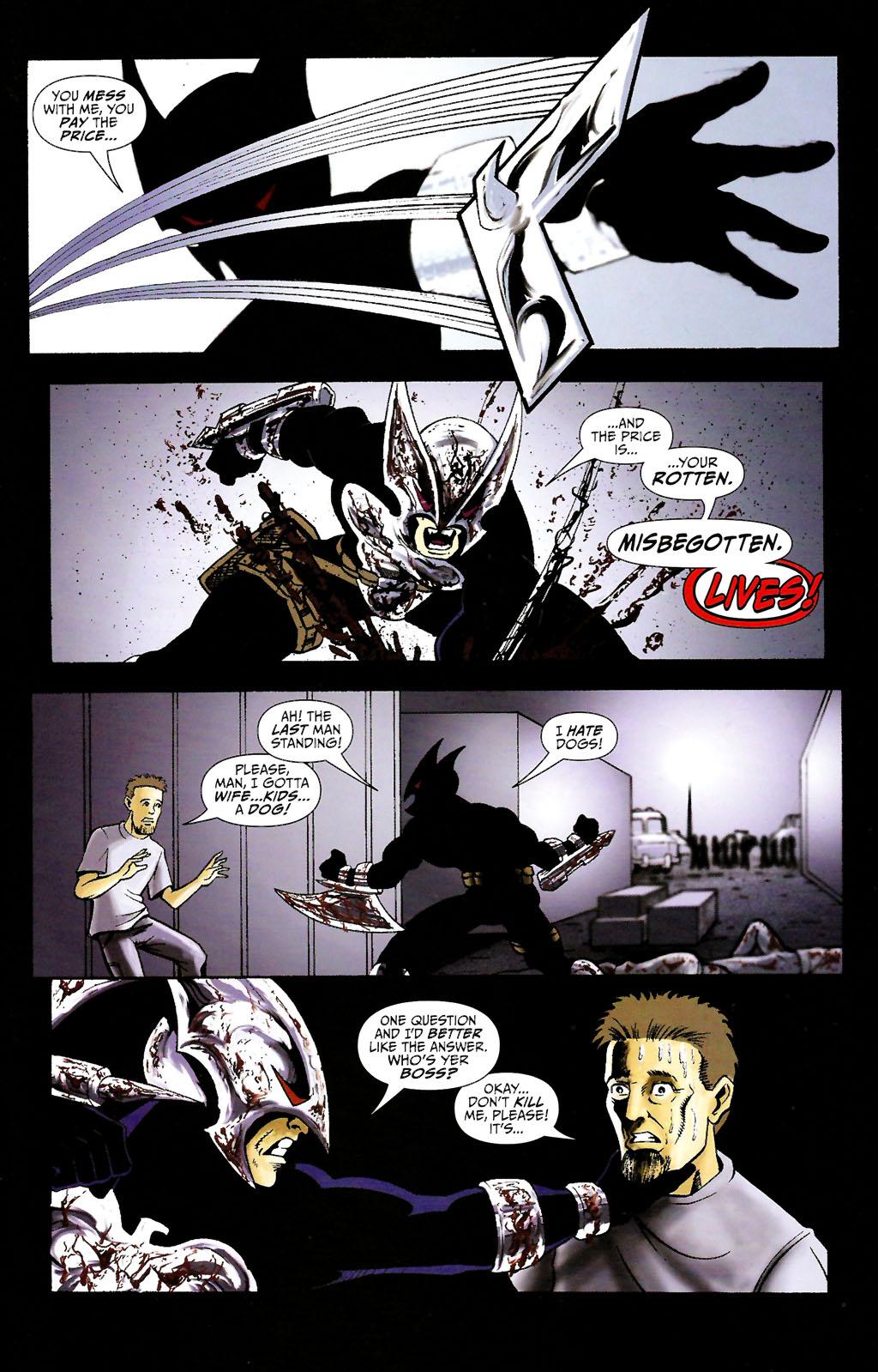 Read online ShadowHawk (2005) comic -  Issue #11 - 19