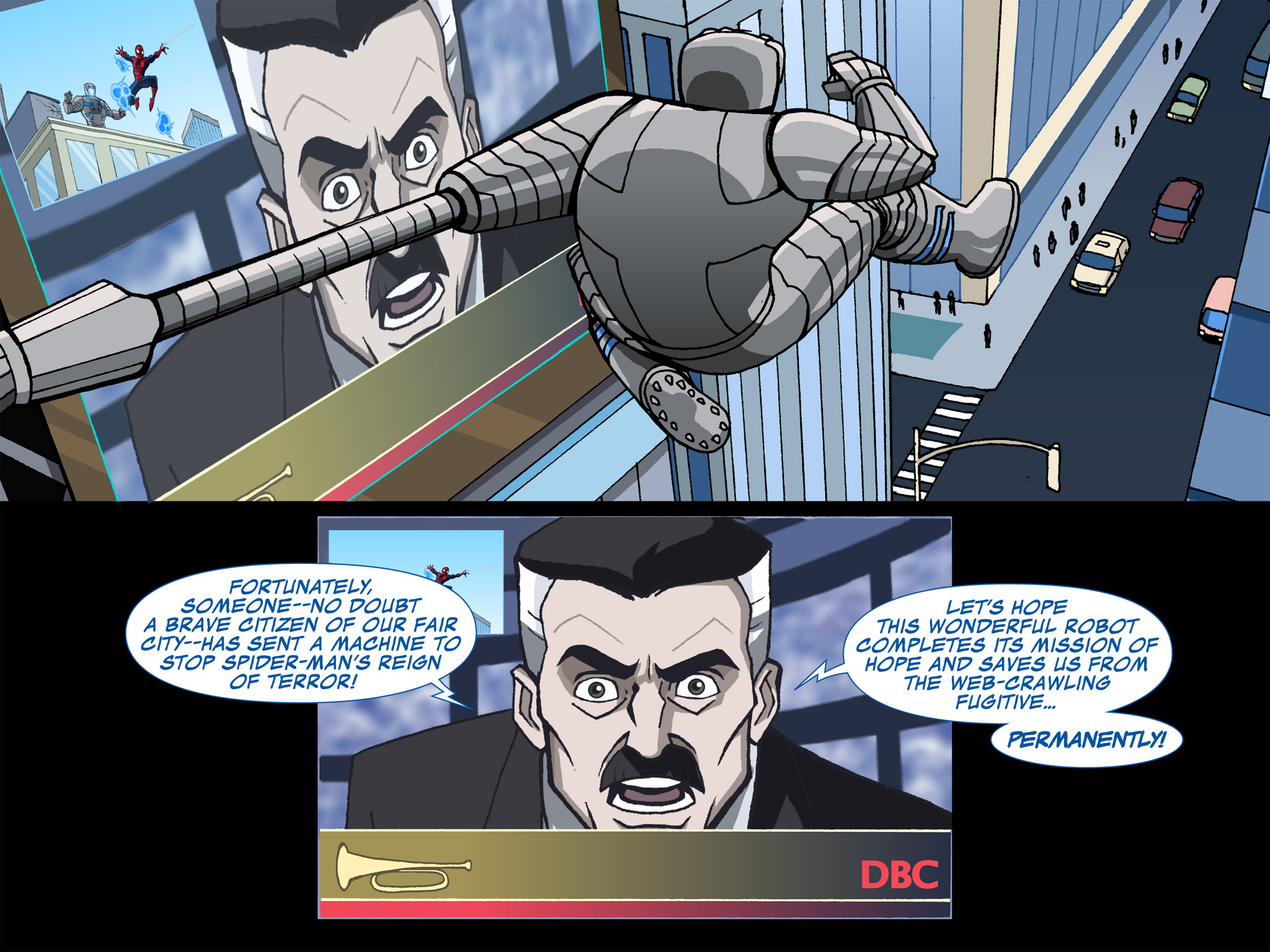 Read online Ultimate Spider-Man (Infinite Comics) (2015) comic -  Issue #3 - 24
