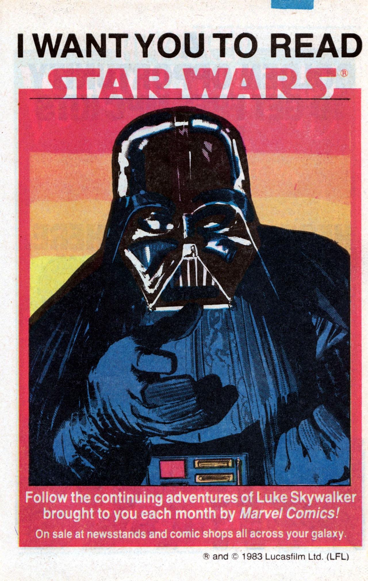Read online Star Wars: Return of the Jedi comic -  Issue #1 - 32