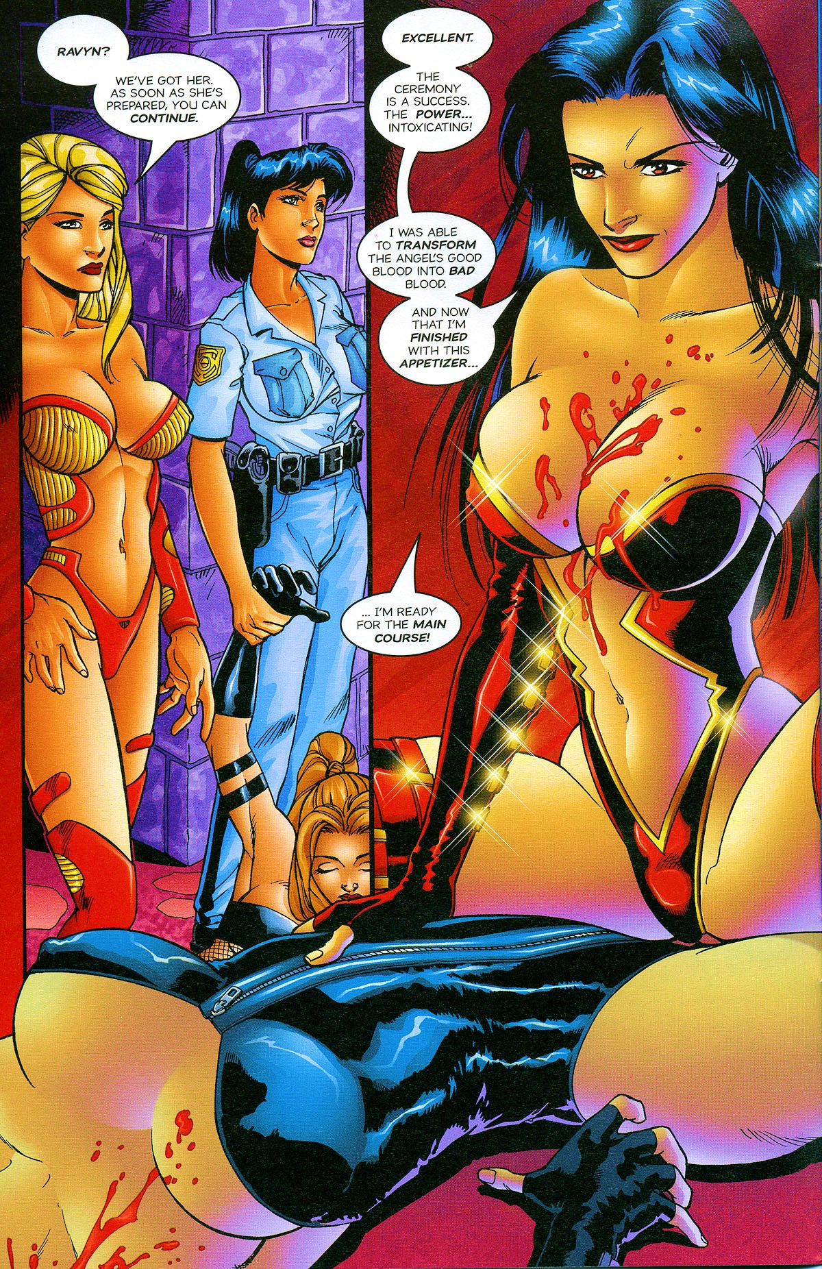 Read online Avengelyne: Bad Blood comic -  Issue #2 - 11