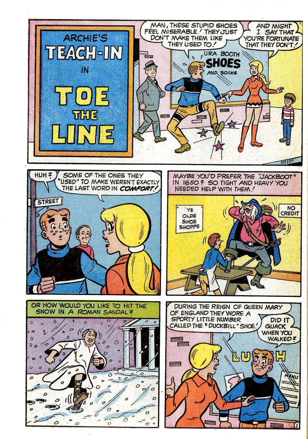 Read online Archie (1960) comic -  Issue #208 - 26