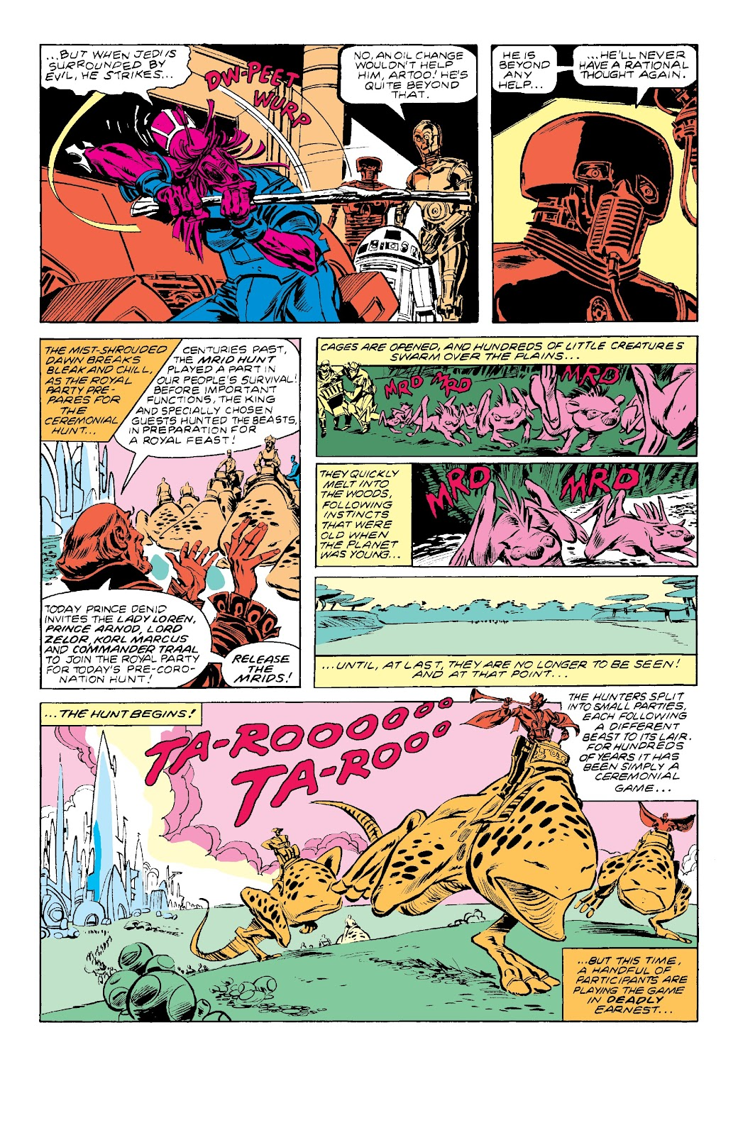 Read online Star Wars Legends: The Original Marvel Years - Epic Collection comic -  Issue # TPB 3 (Part 3) - 21