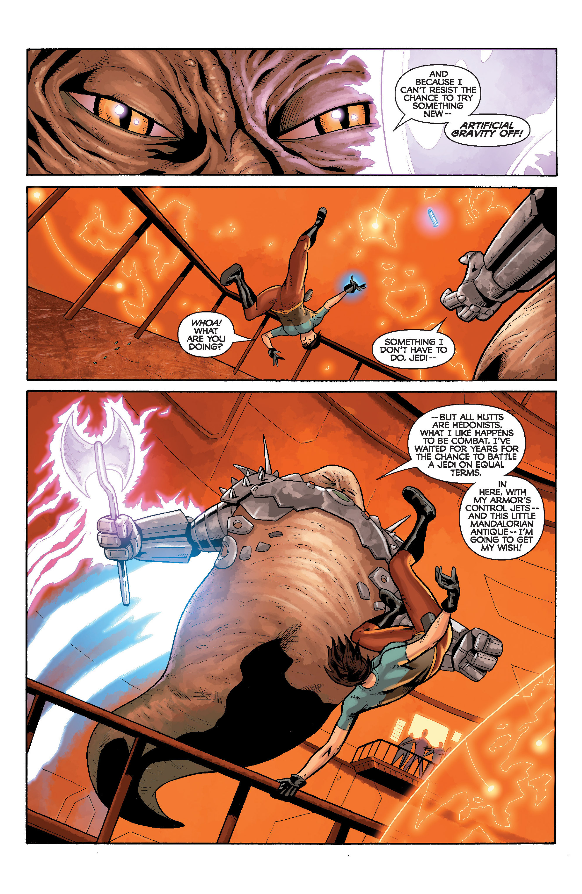 Read online Star Wars: Knight Errant - Deluge comic -  Issue #5 - 13