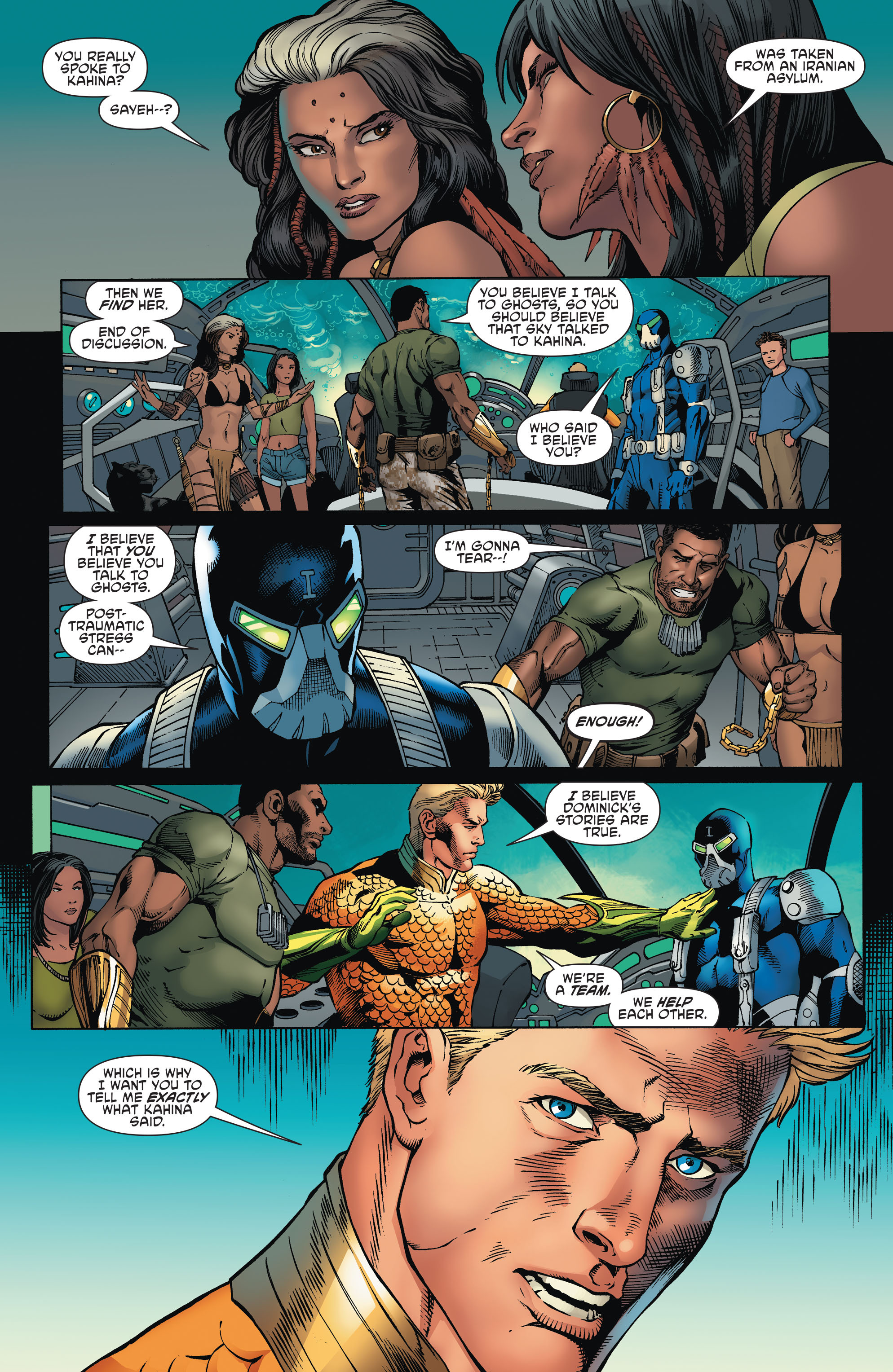Read online Aquaman and the Others comic -  Issue #2 - 11