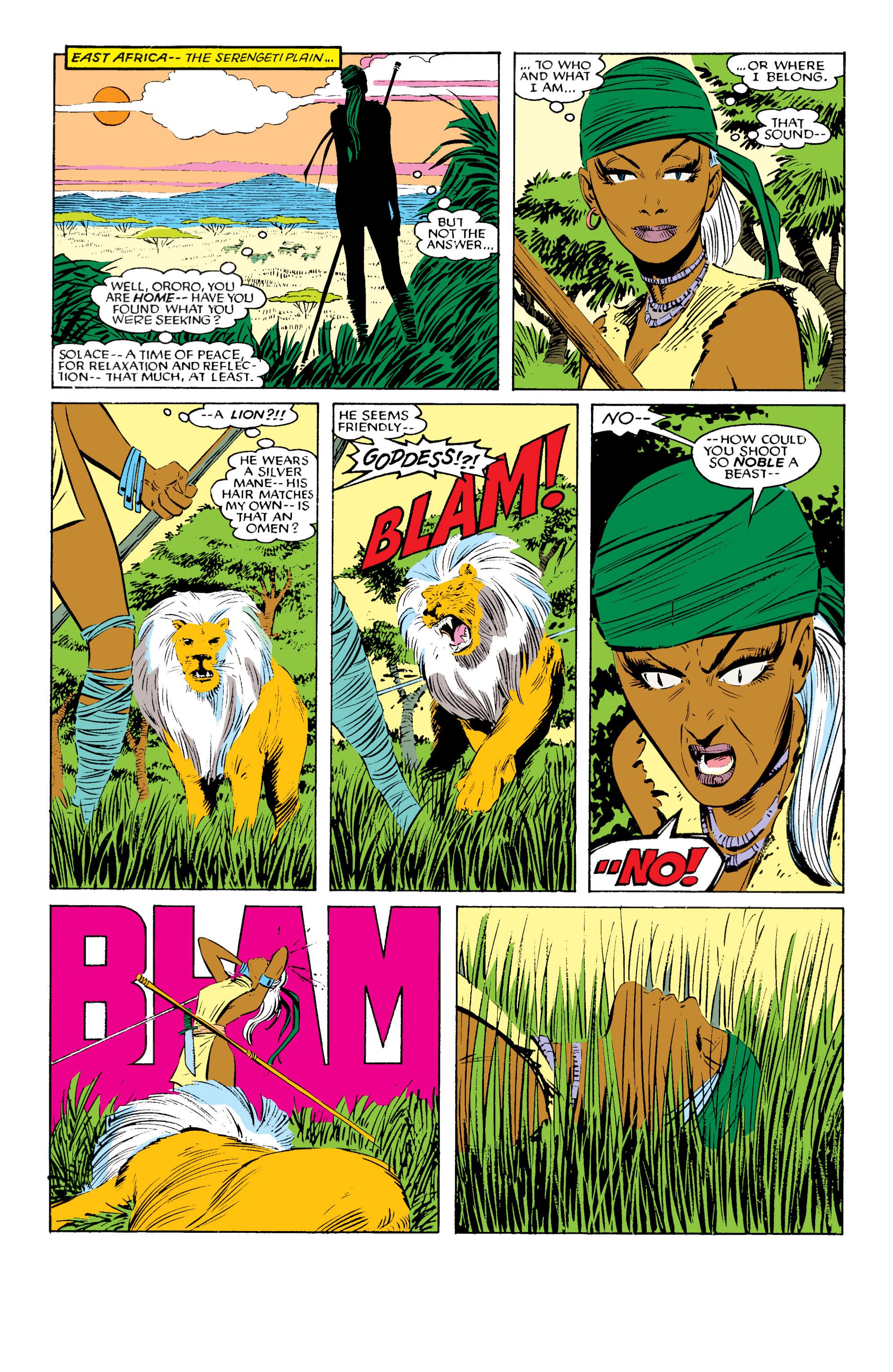 Read online Uncanny X-Men (1963) comic -  Issue #196 - 4