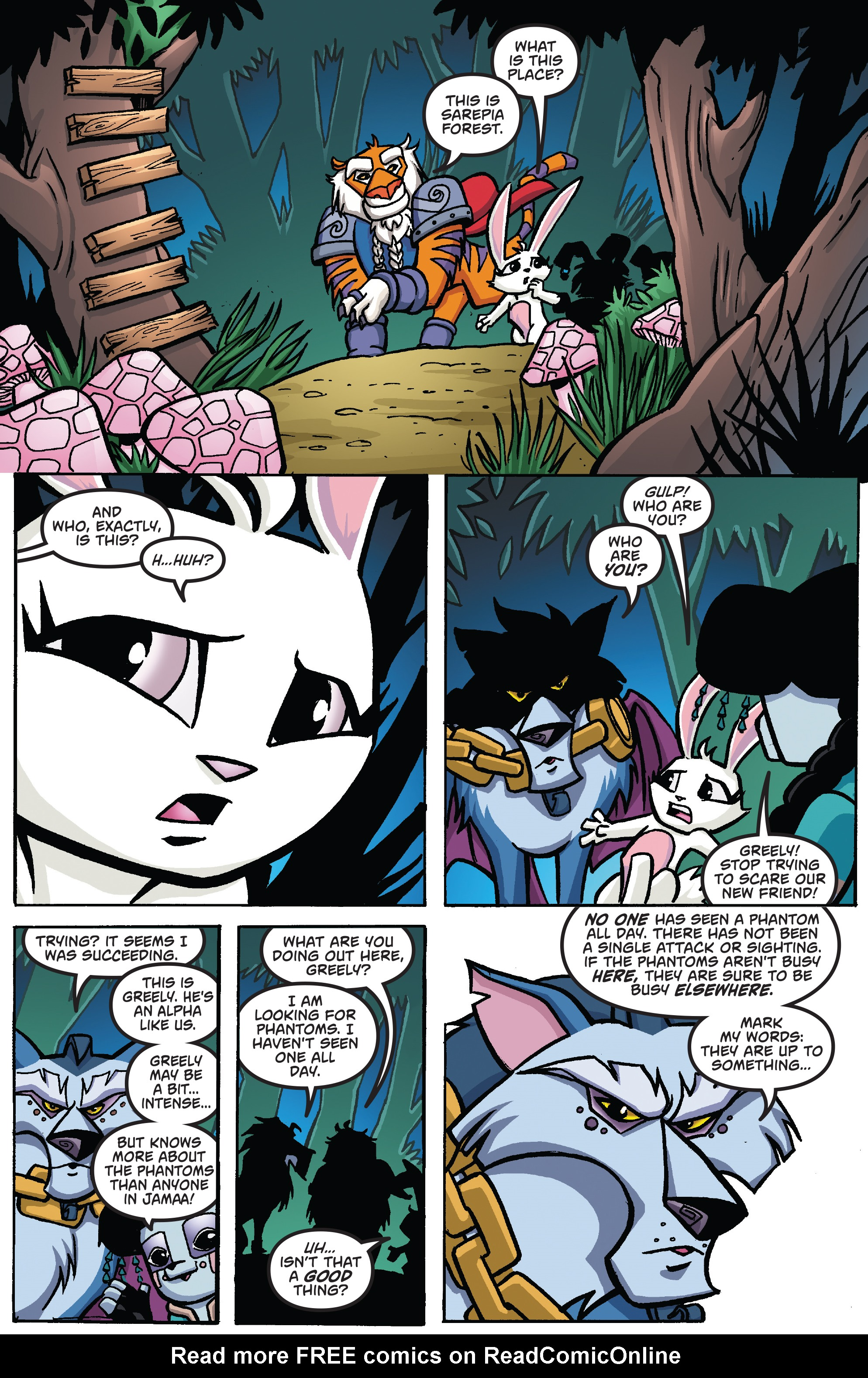 Read online Free Comic Book Day 2017 comic -  Issue # Animal Jam - 14