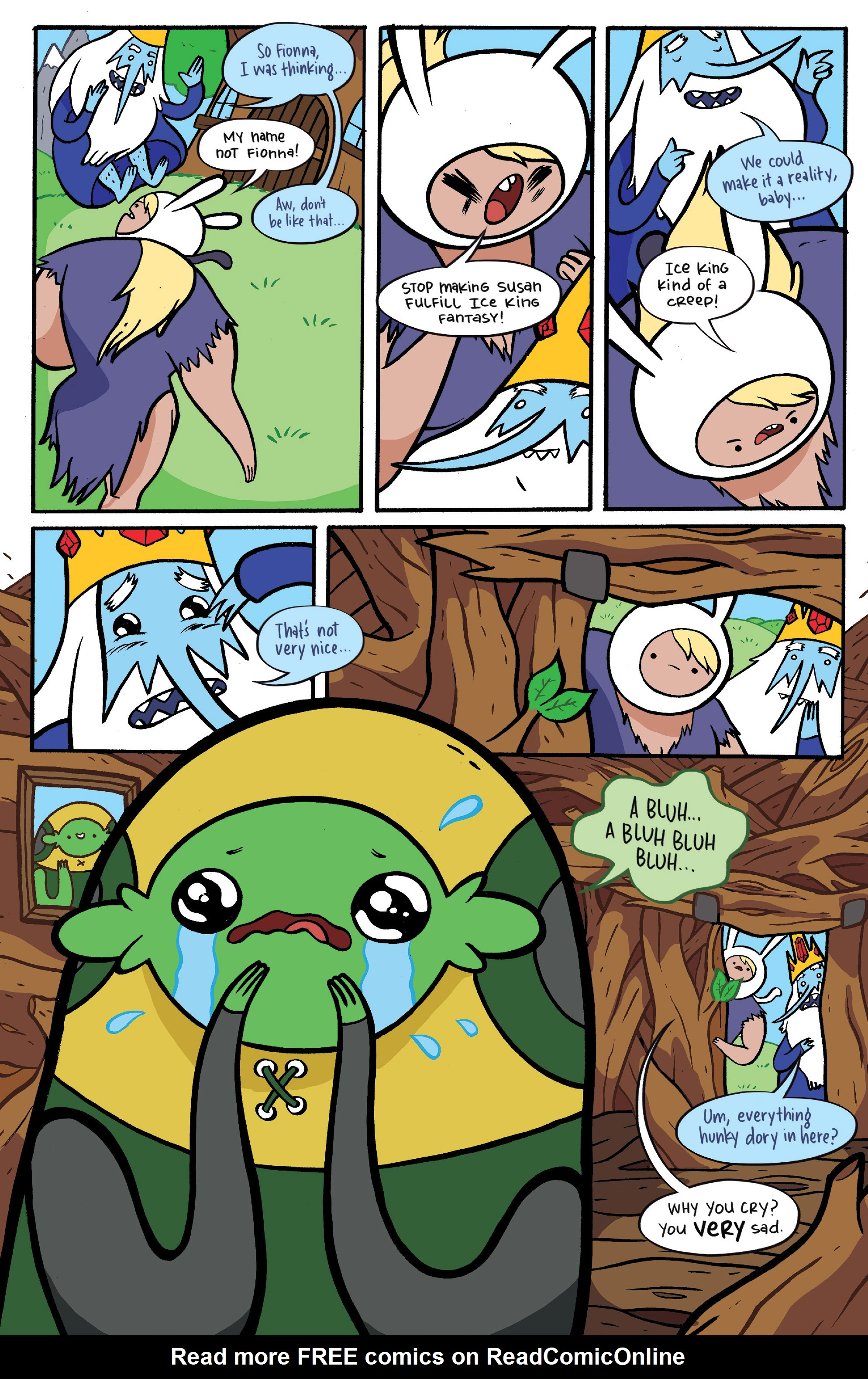 Read online Adventure Time: Candy Capers comic -  Issue #4 - 23