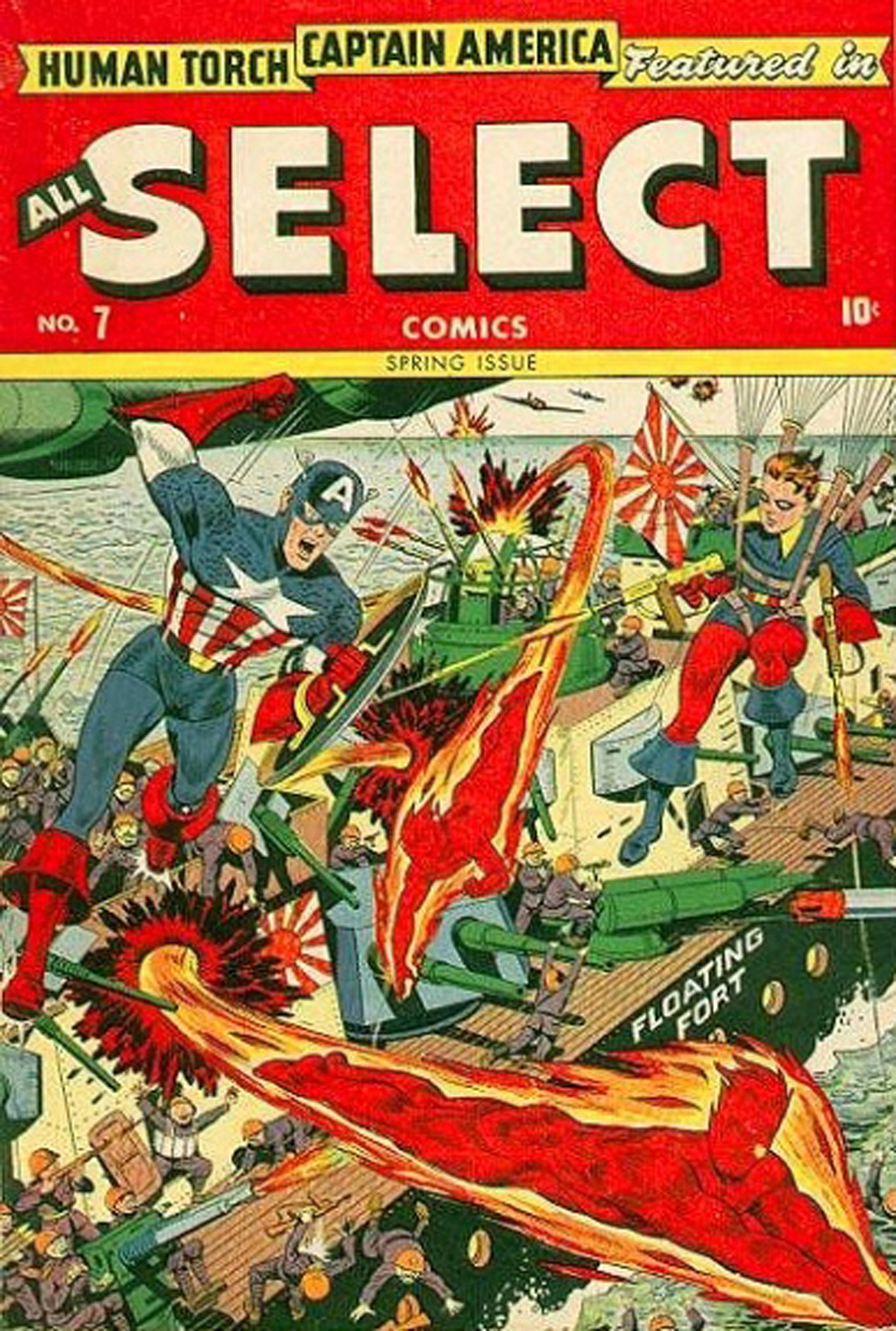 Read online All-Select Comics comic -  Issue #7 - 1