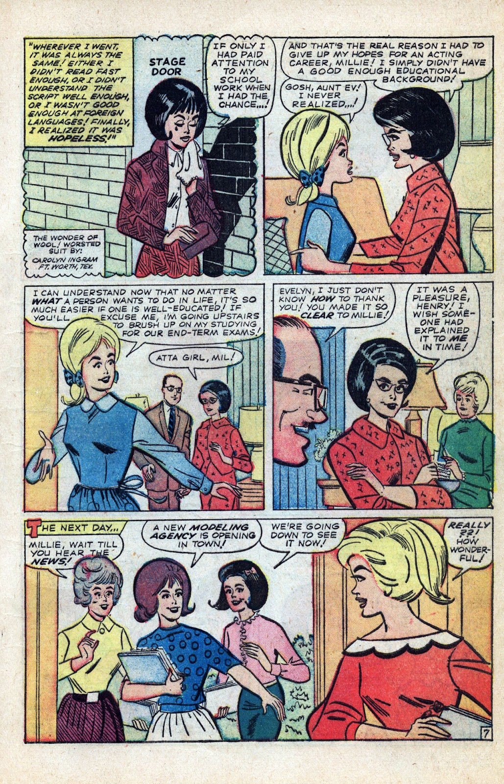 Read online Millie the Model comic -  Issue # Annual 3 - 11