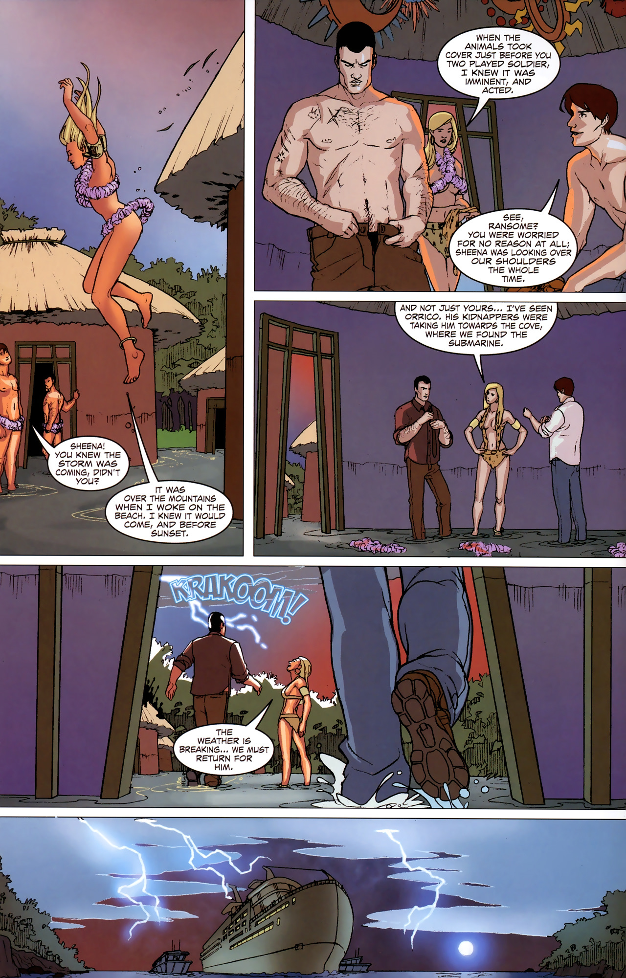 Read online Sheena Queen of the Jungle: Dark Rising comic -  Issue #2 - 19