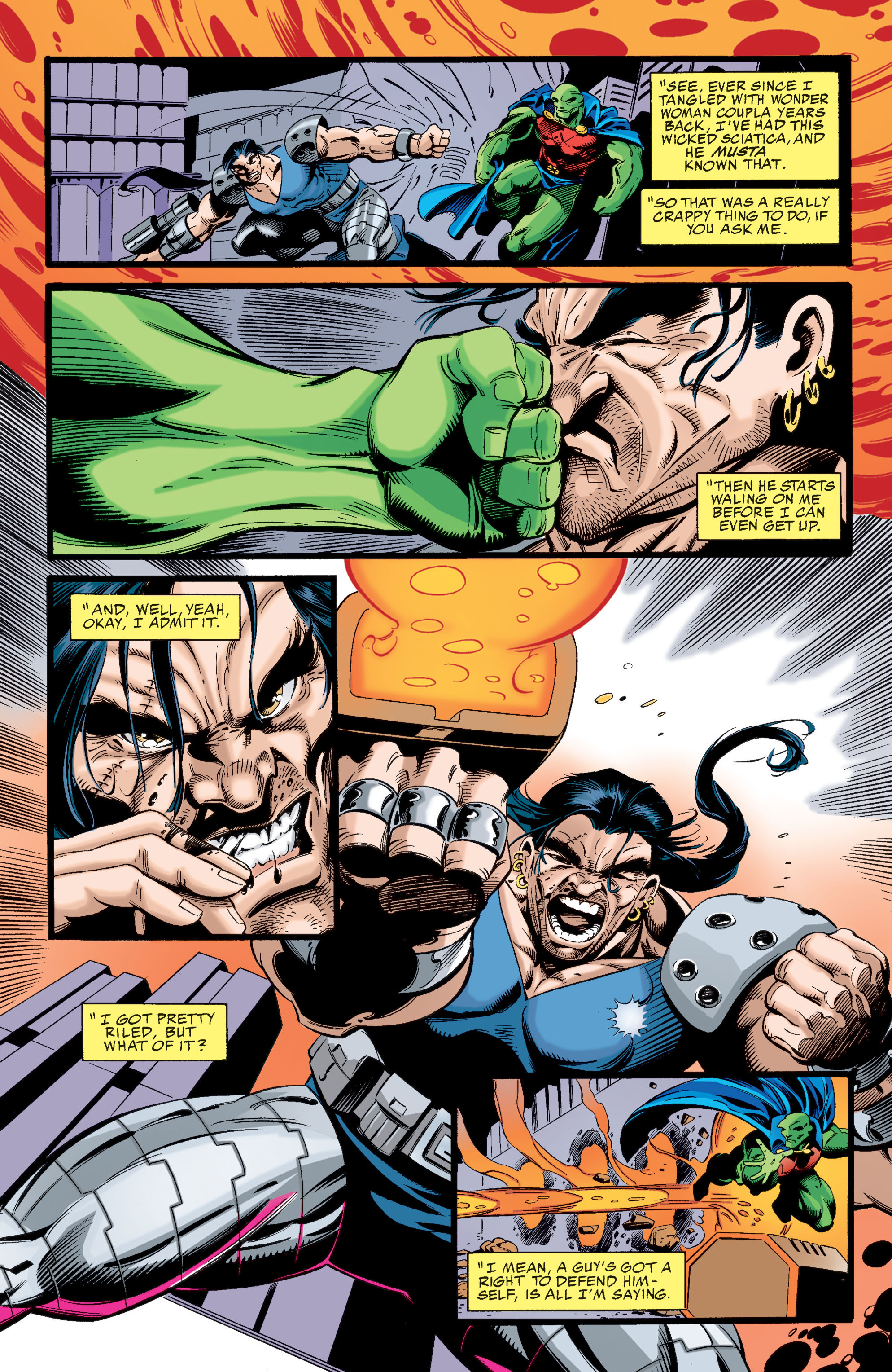 Read online Martian Manhunter: Son of Mars comic -  Issue # TPB - 123