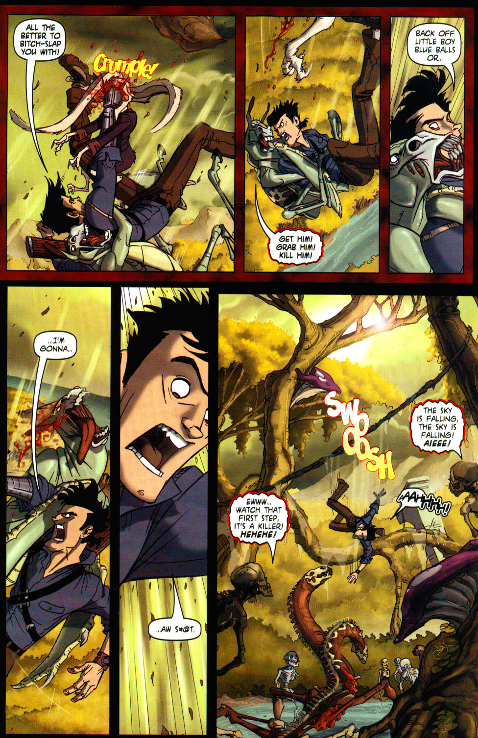 Read online Army of Darkness vs. Re-Animator comic -  Issue #3 - 7