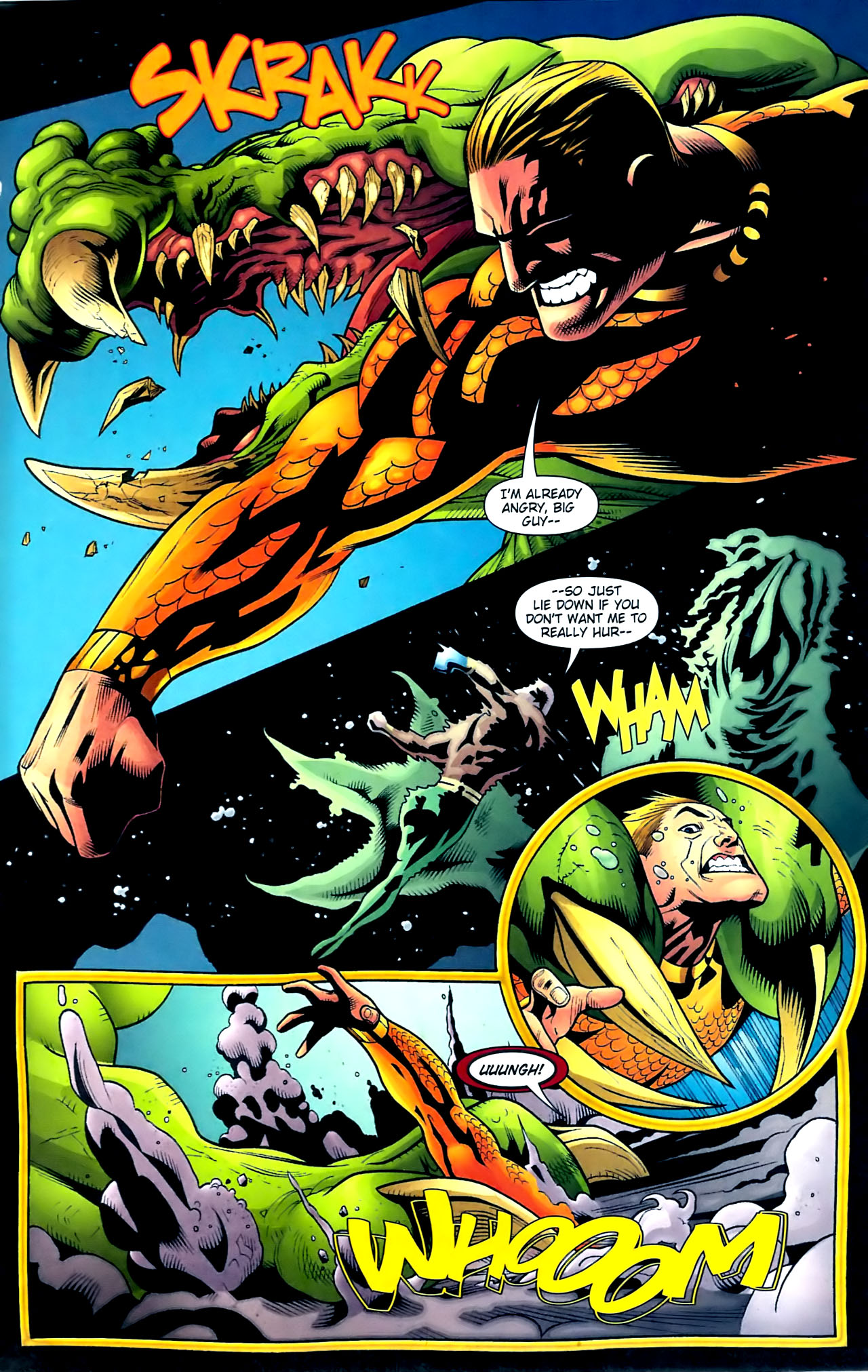 Read online Aquaman (2003) comic -  Issue #32 - 12