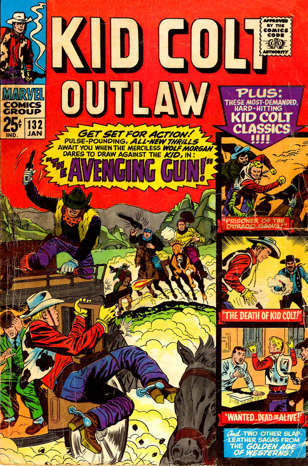 Kid Colt Outlaw issue 132 - Page 1