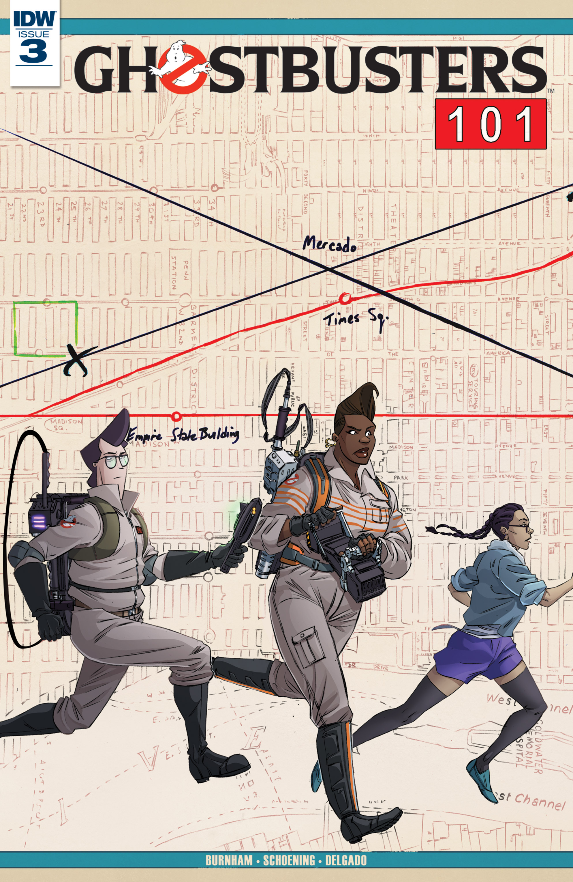 Read online Ghostbusters 101 comic -  Issue #3 - 1