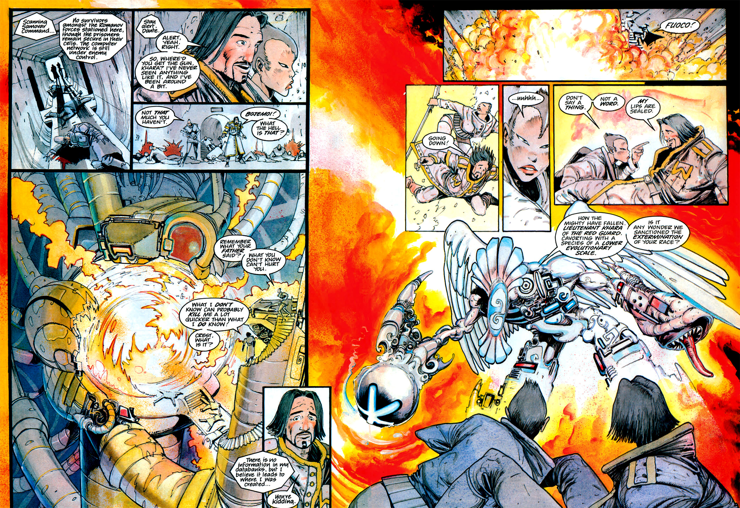 Read online Nikolai Dante comic -  Issue # TPB 1 - 165
