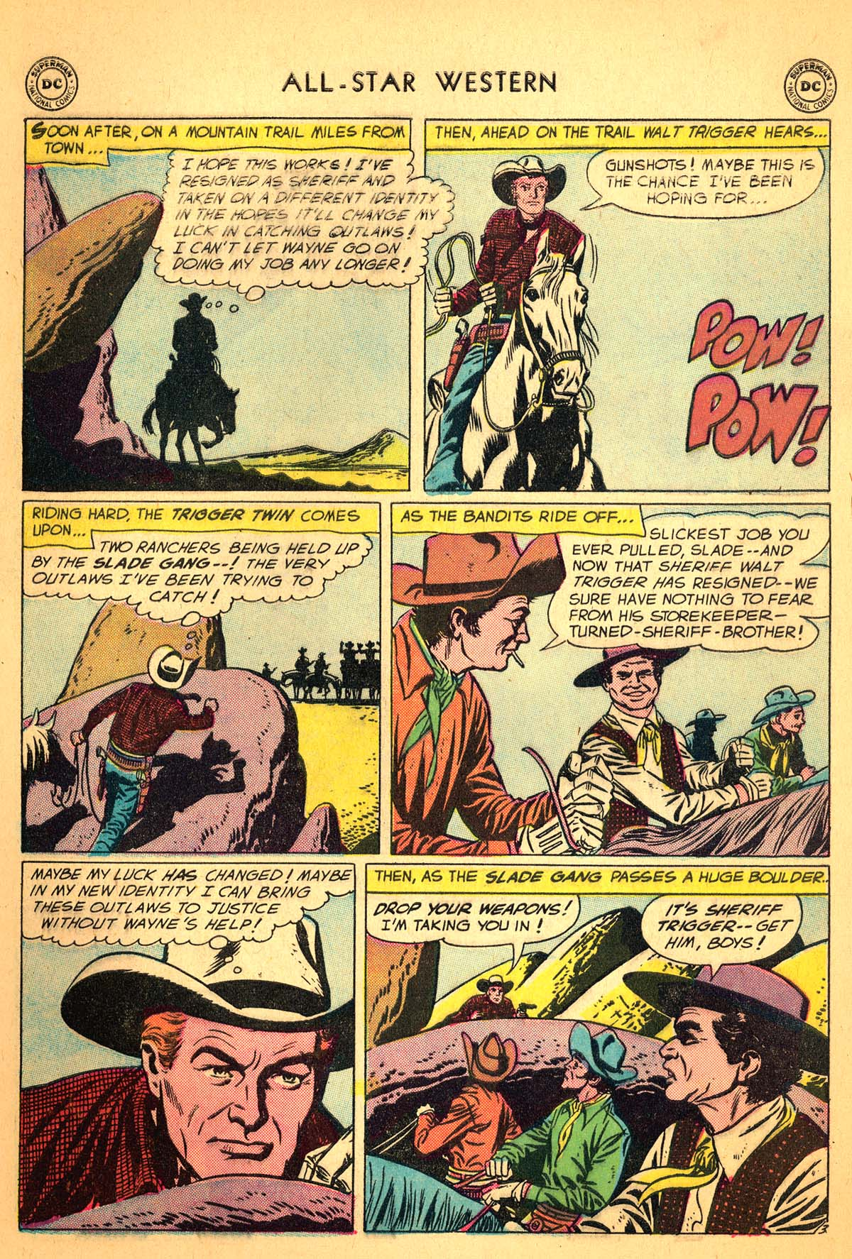 Read online All-Star Western (1951) comic -  Issue #99 - 5
