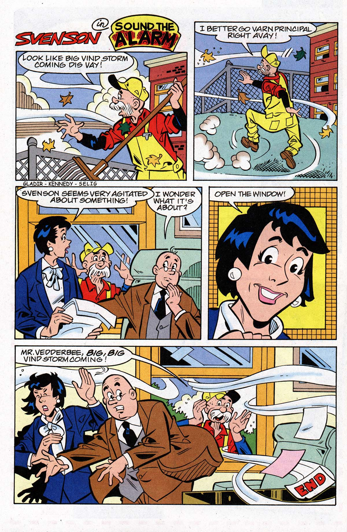 Read online Archie's Weird Mysteries comic -  Issue #26 - 8