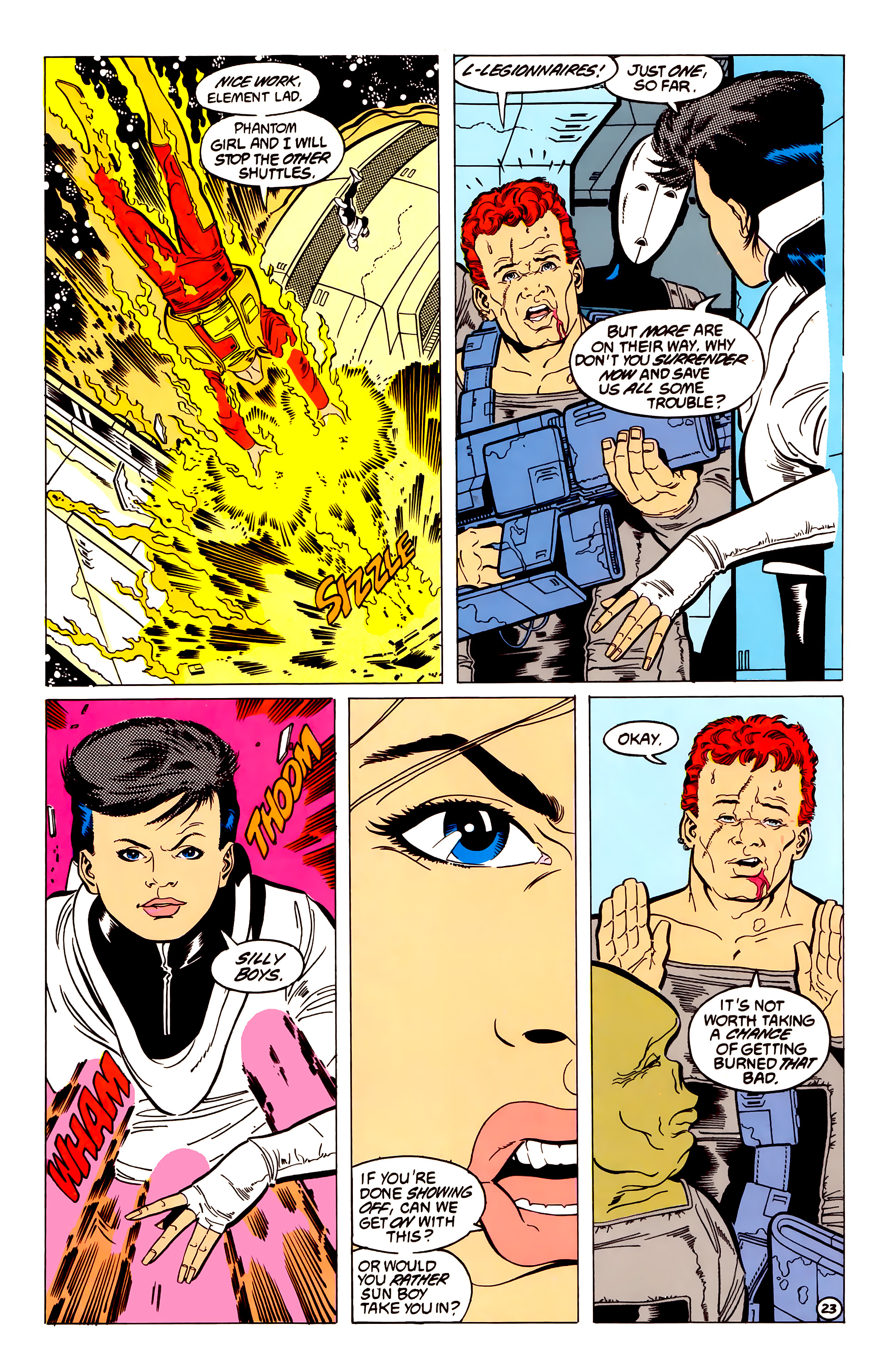 Legion of Super-Heroes (1984) 54 Page 23