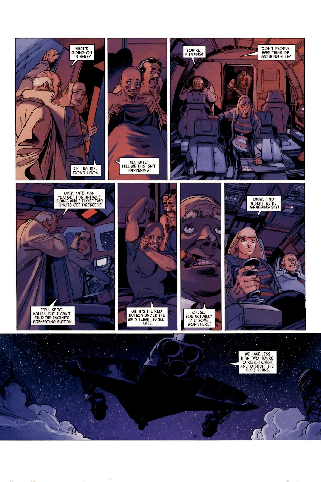 Read online Universal War One: Revelations comic -  Issue #1 - 34