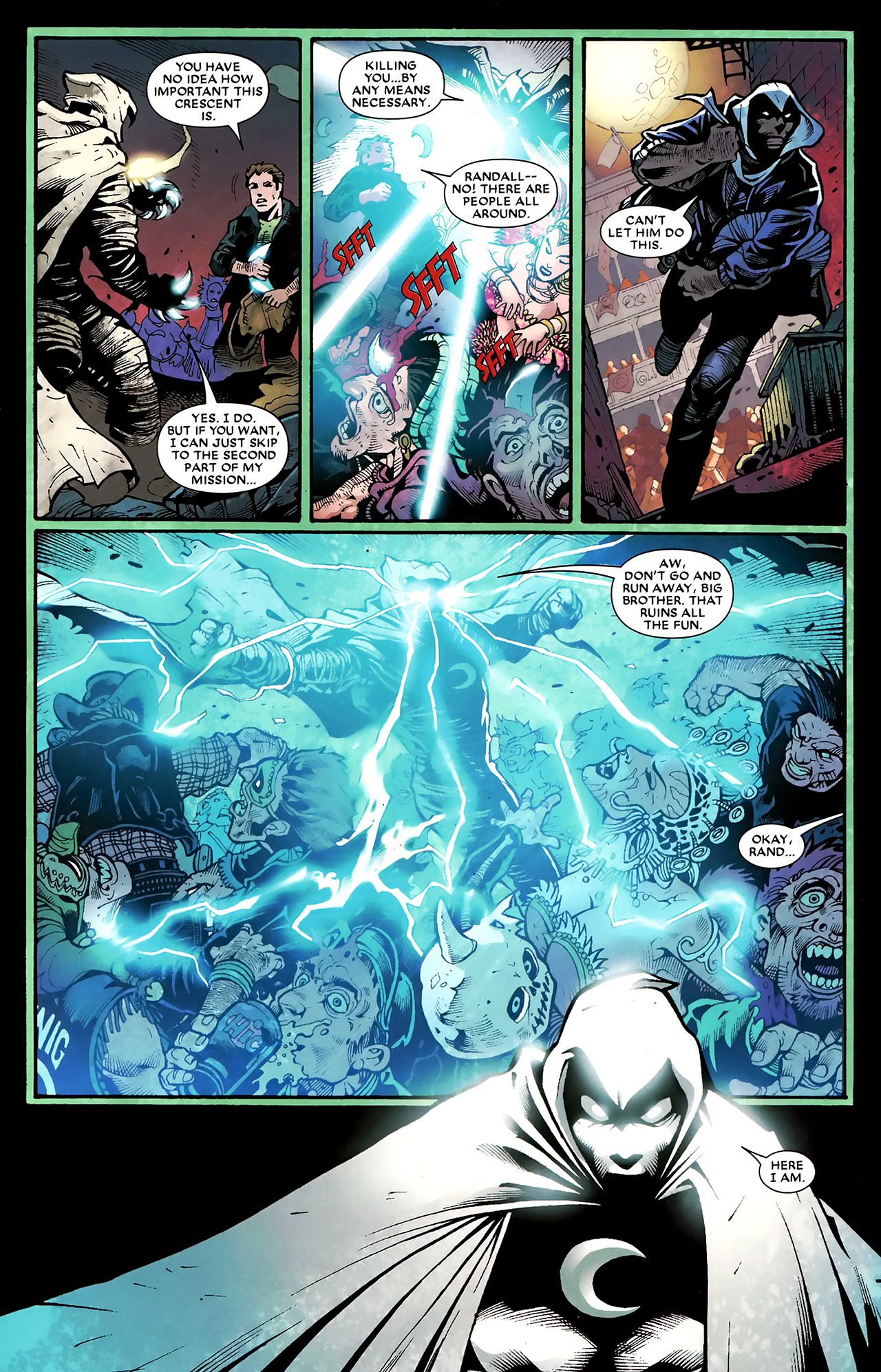 Read online Shadowland: Moon Knight comic -  Issue #3 - 17