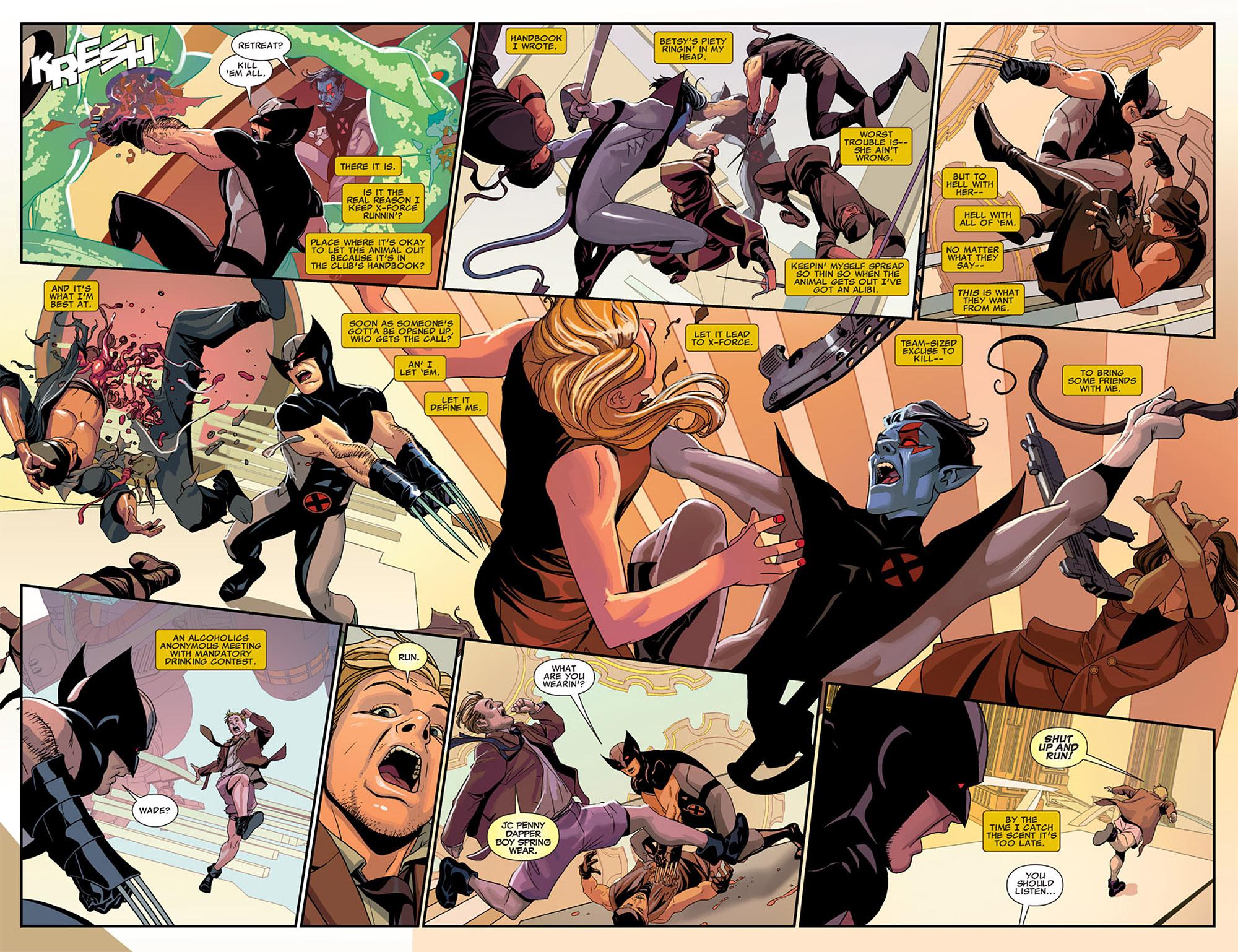 Uncanny X-Force (2010) #25 #27 - English 17