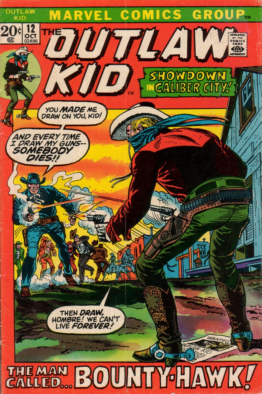 The Outlaw Kid (1970) issue 12 - Page 1