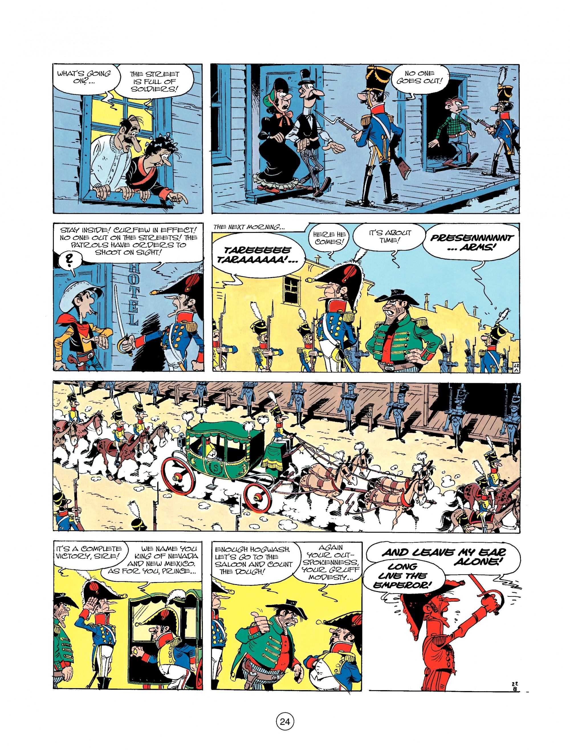 Read online A Lucky Luke Adventure comic -  Issue #22 - 24