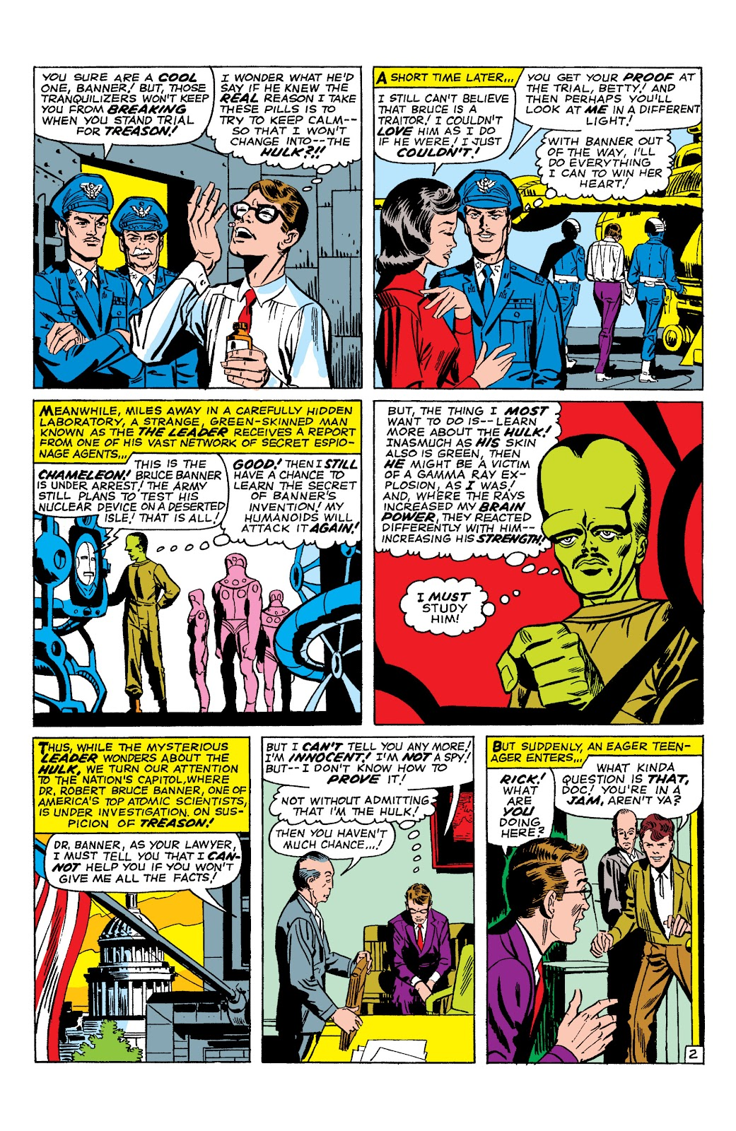 Read online Marvel Masterworks: The Incredible Hulk comic -  Issue # TPB 2 (Part 1) - 70