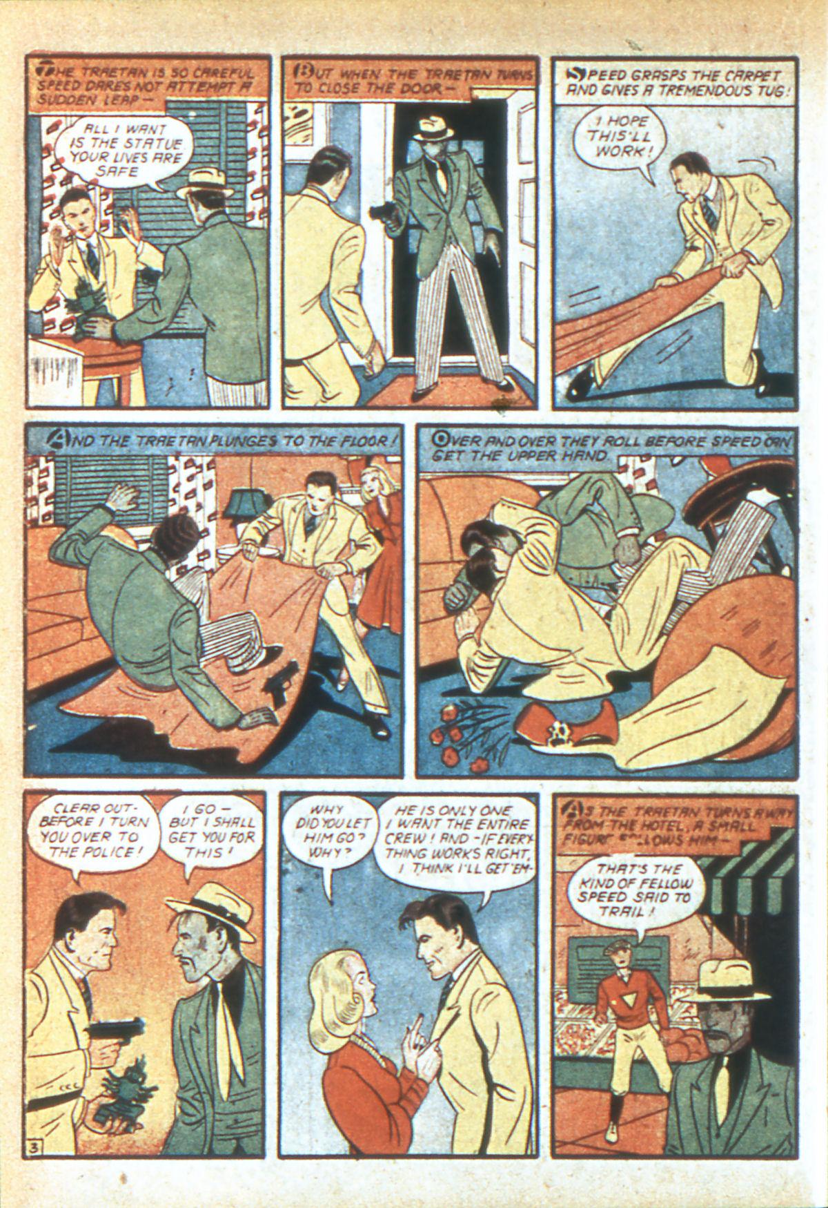 Read online Detective Comics (1937) comic -  Issue #39 - 39