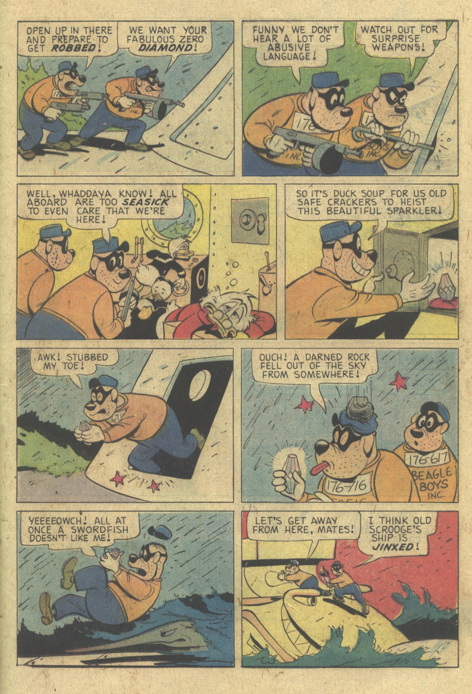 Read online Uncle Scrooge (1953) comic -  Issue #133 - 25