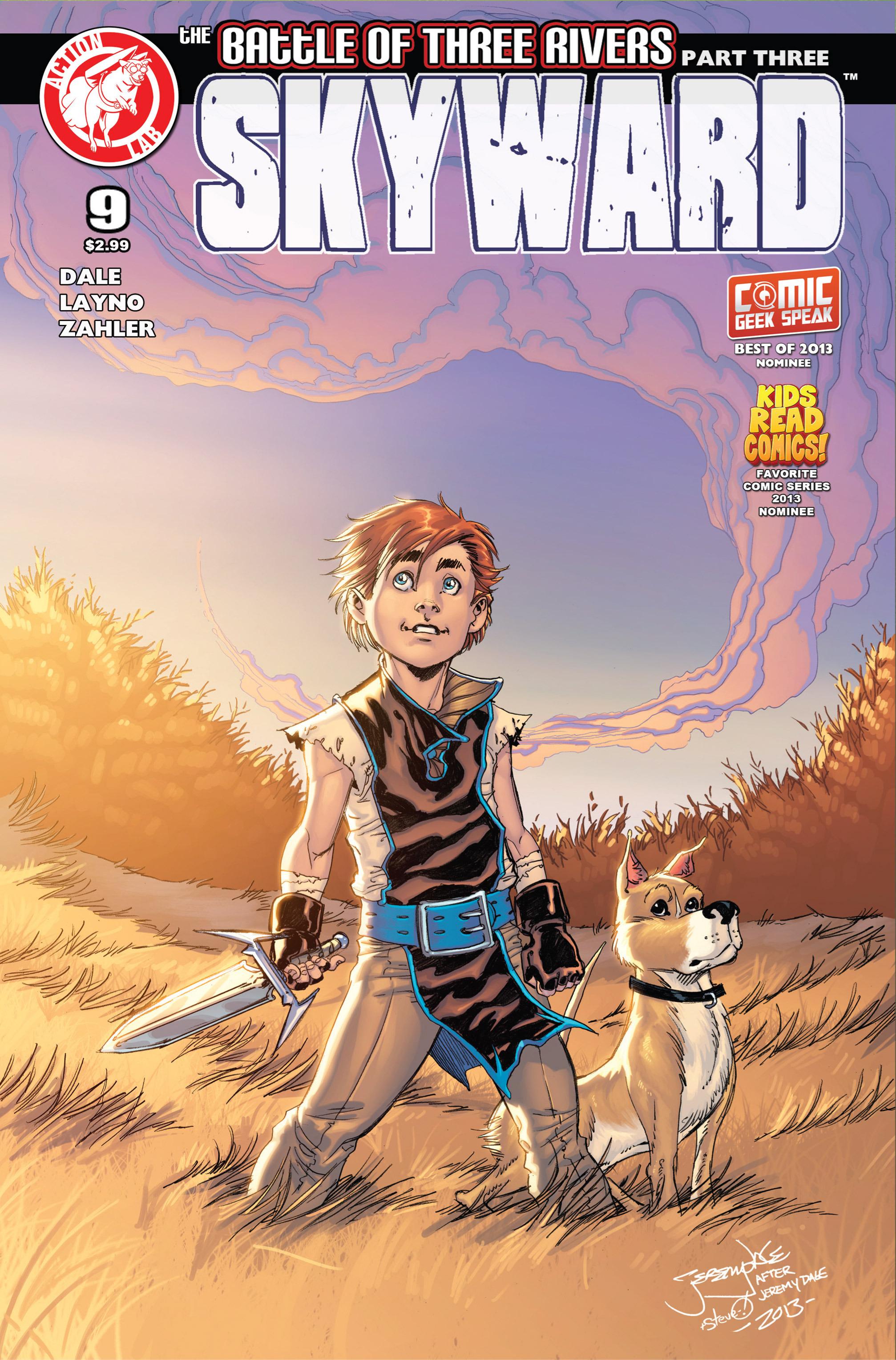 Read online Skyward comic -  Issue #9 - 1