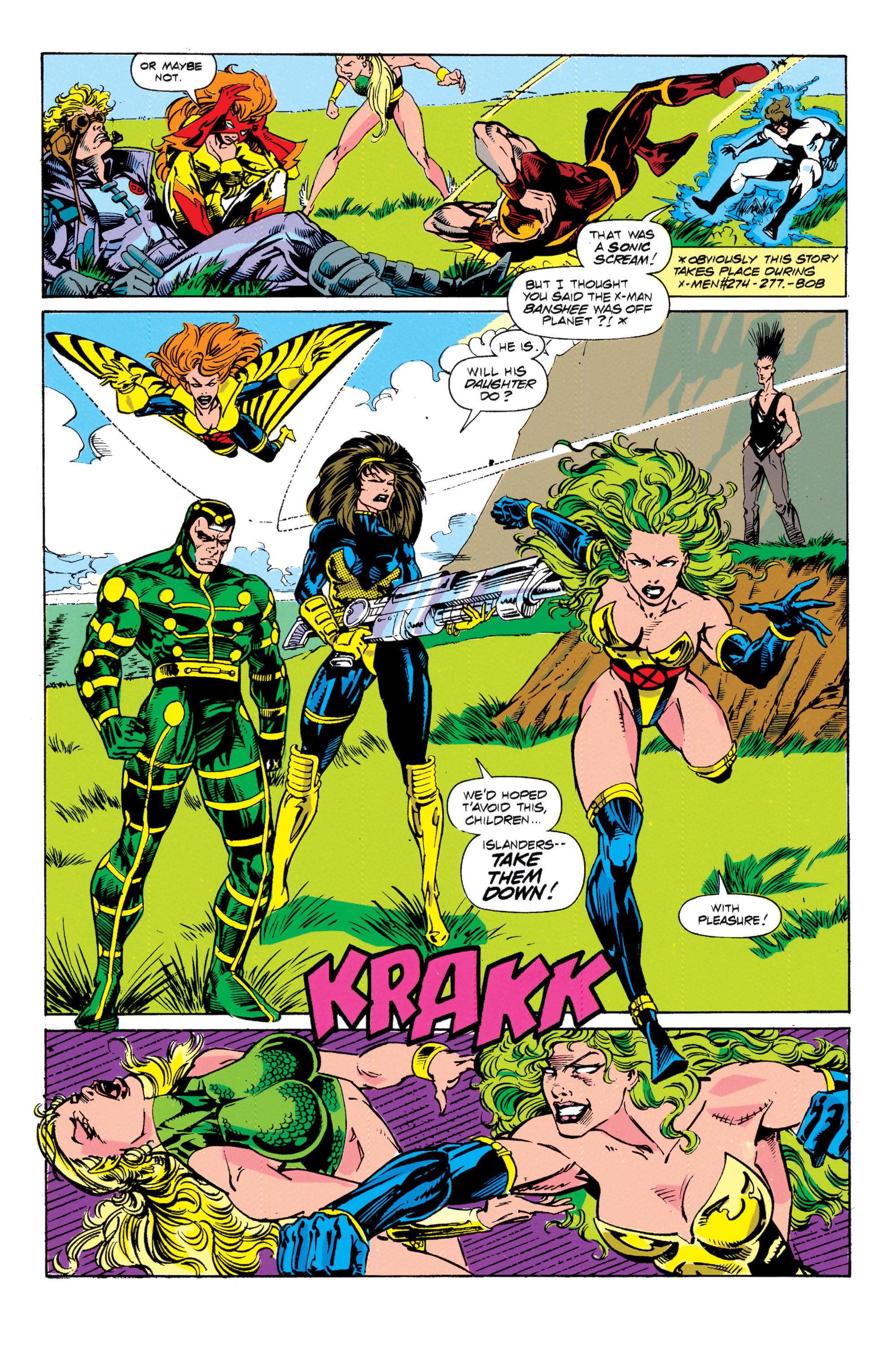 Read online Uncanny X-Men (1963) comic -  Issue # _Annual 15 - 7