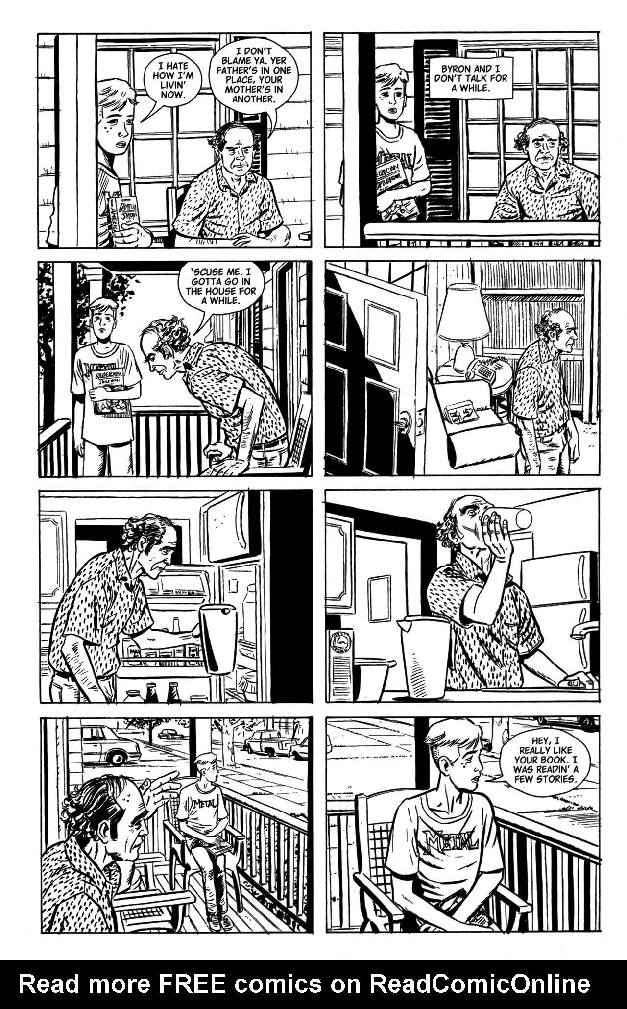 Read online American Splendor (2008) comic -  Issue #1 - 8