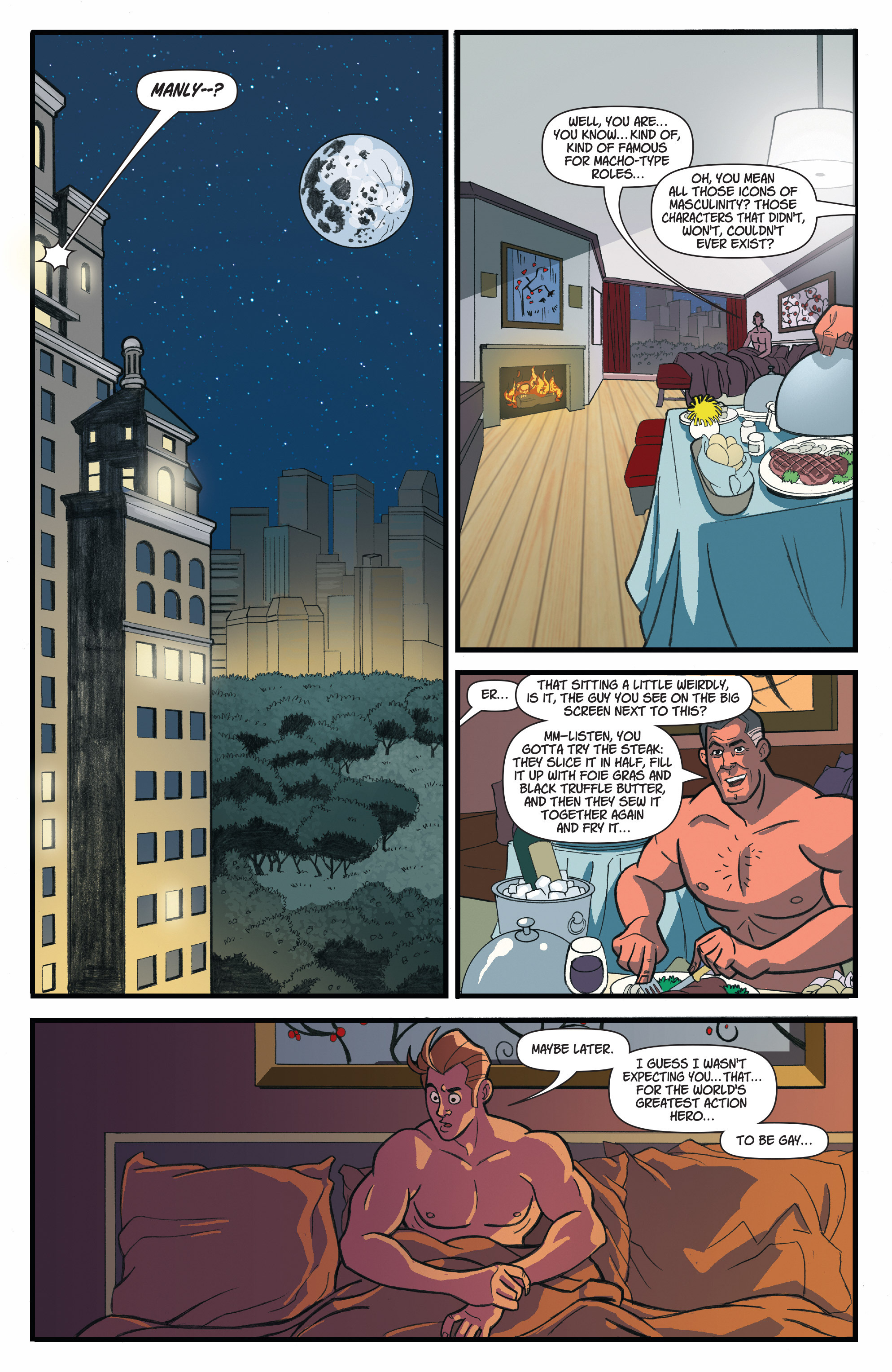 Read online A Train Called Love comic -  Issue #4 - 10