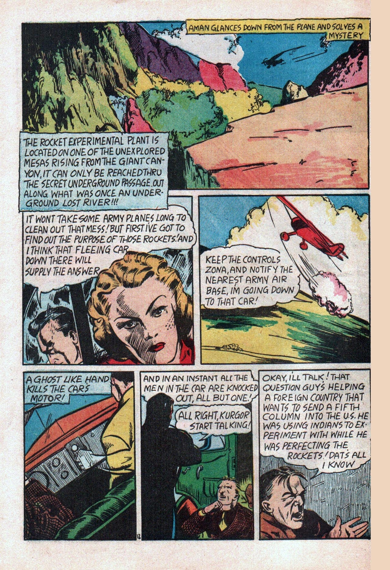 Read online Amazing Man Comics comic -  Issue #20 - 15
