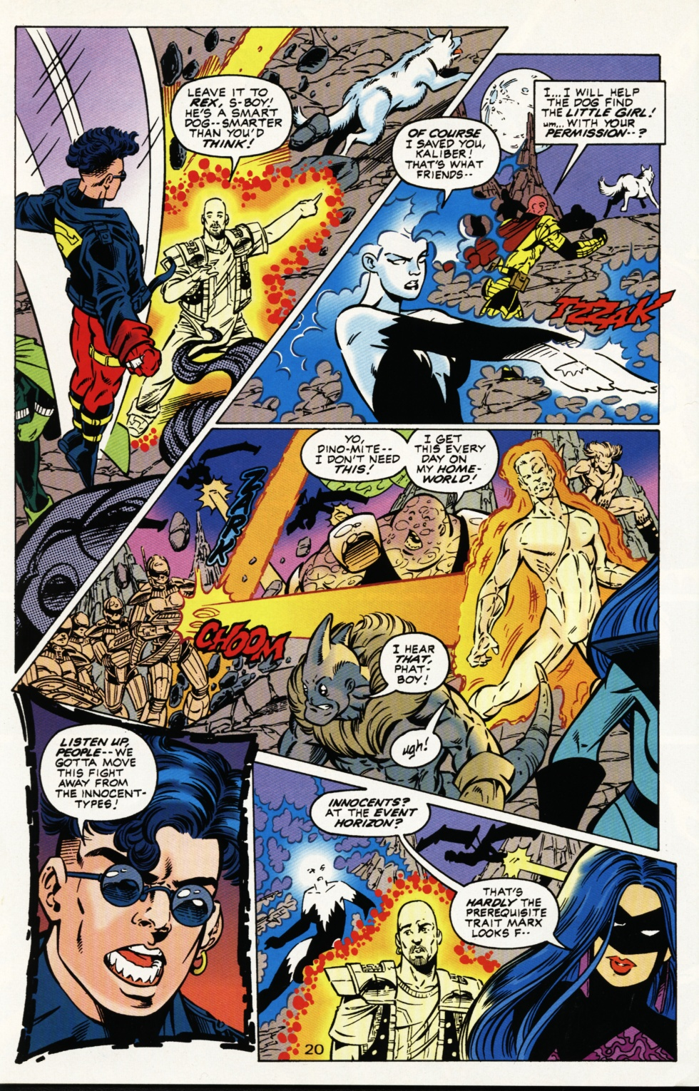 Read online Superboy & The Ravers comic -  Issue #3 - 21