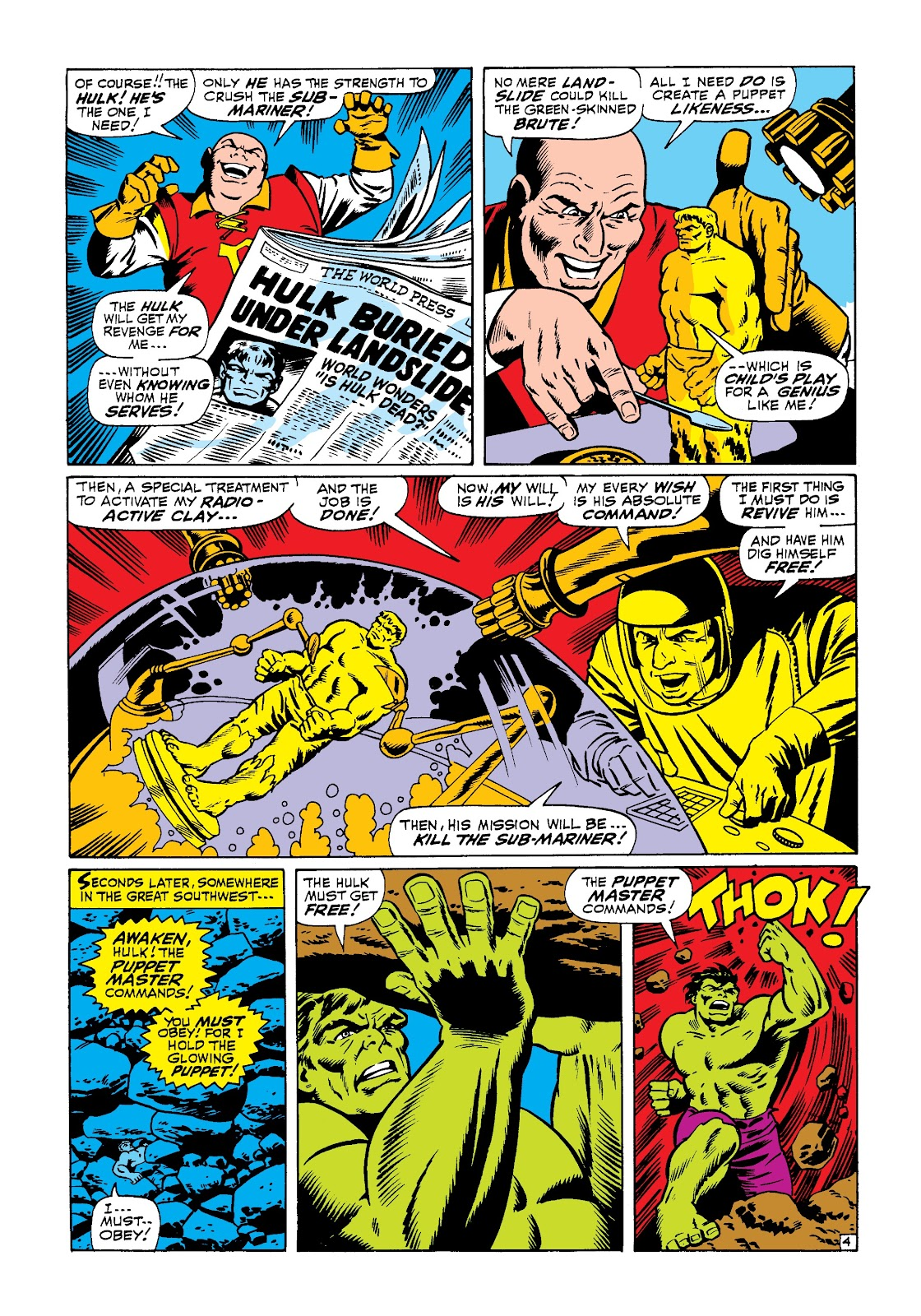 Read online Marvel Masterworks: The Incredible Hulk comic -  Issue # TPB 3 (Part 3) - 32