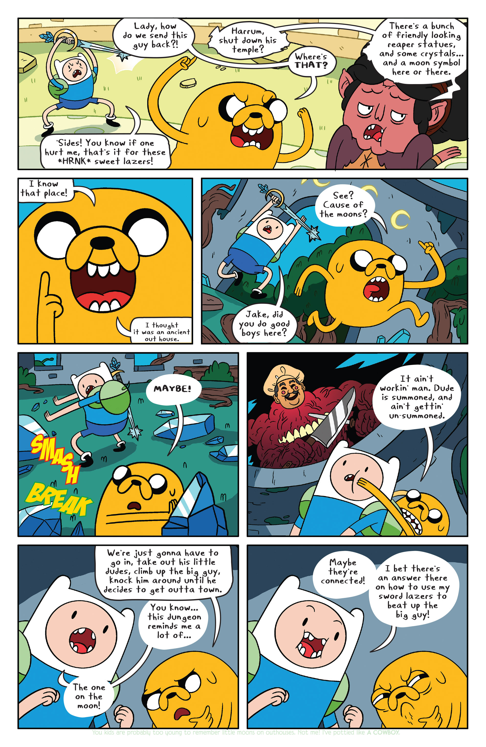 Read online Adventure Time comic -  Issue #39 - 9