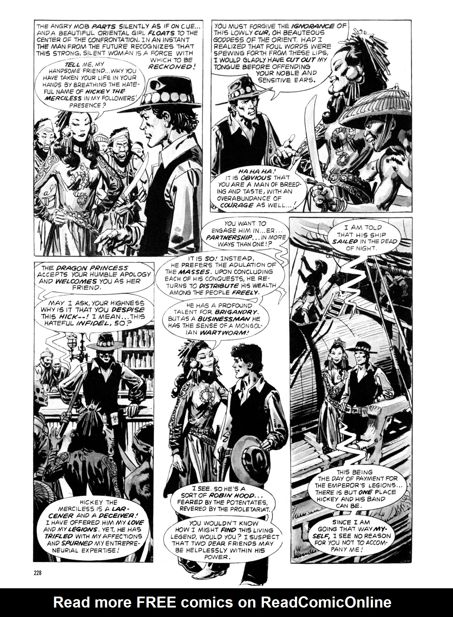 Read online Eerie Archives comic -  Issue # TPB 20 - 228