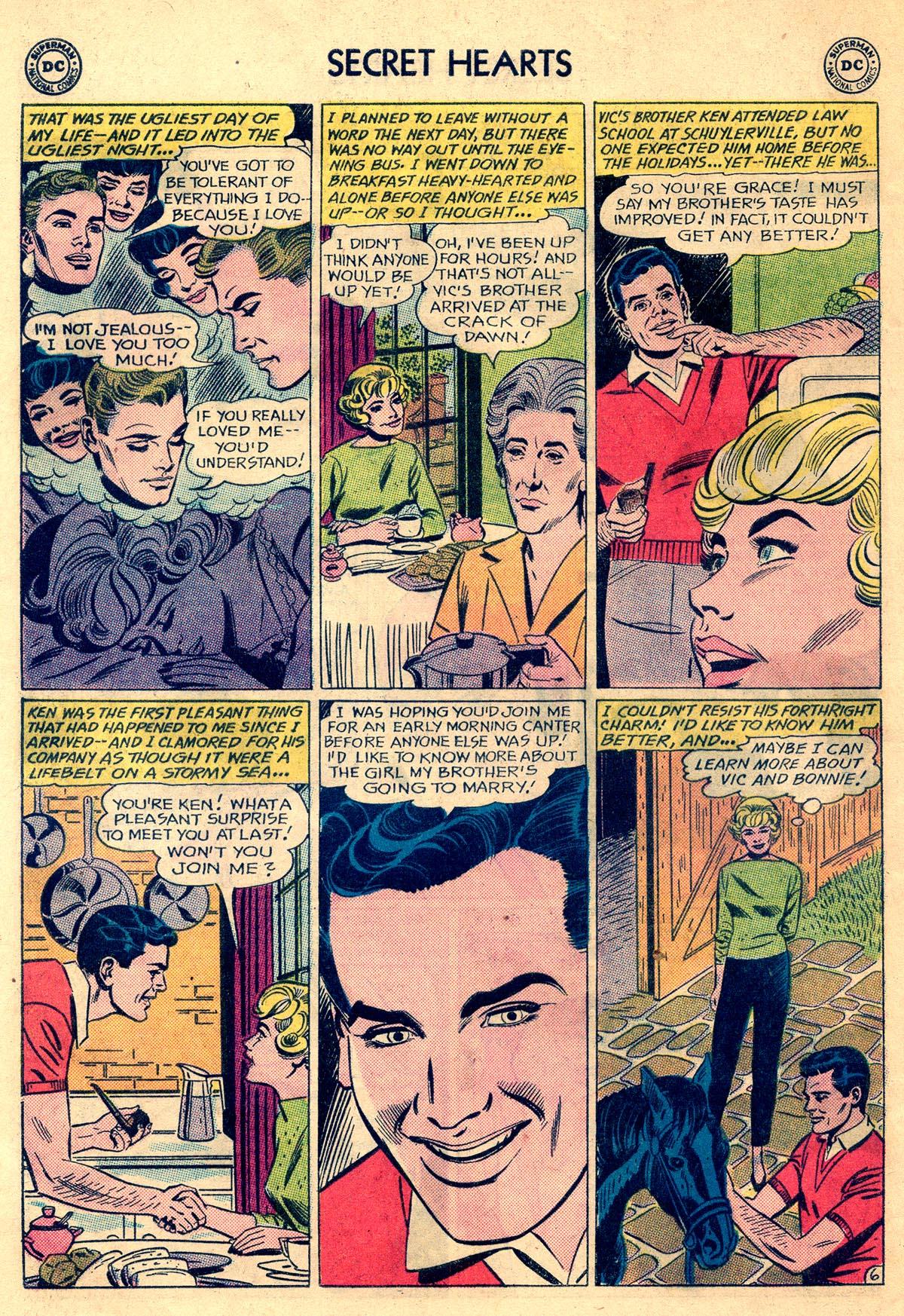 Read online Secret Hearts comic -  Issue #81 - 8