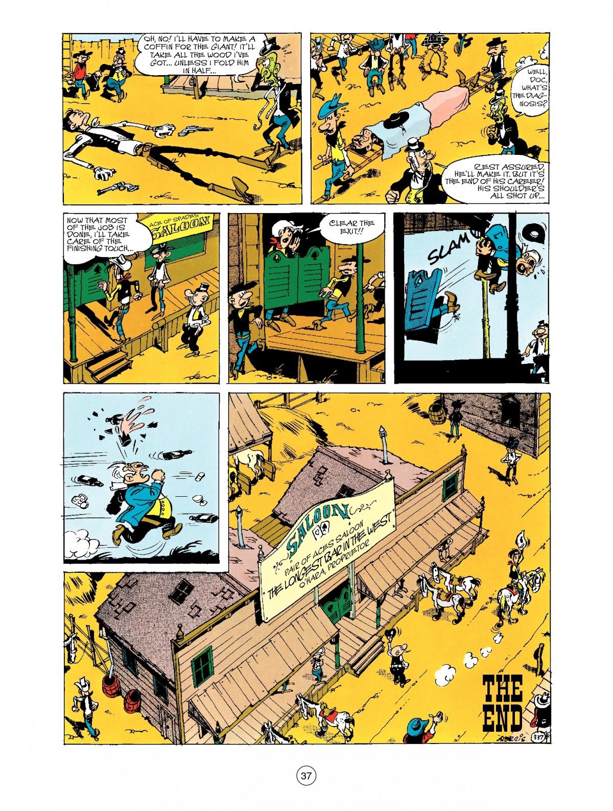 Read online A Lucky Luke Adventure comic -  Issue #40 - 37