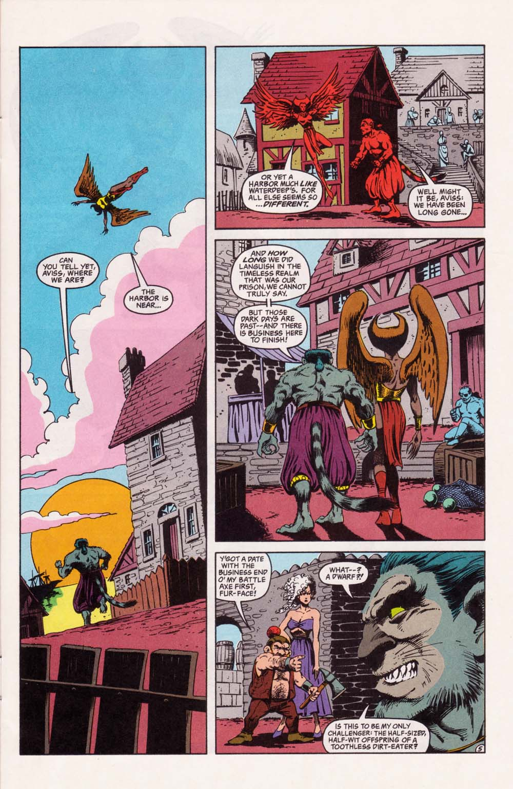 Read online Advanced Dungeons & Dragons comic -  Issue #33 - 5