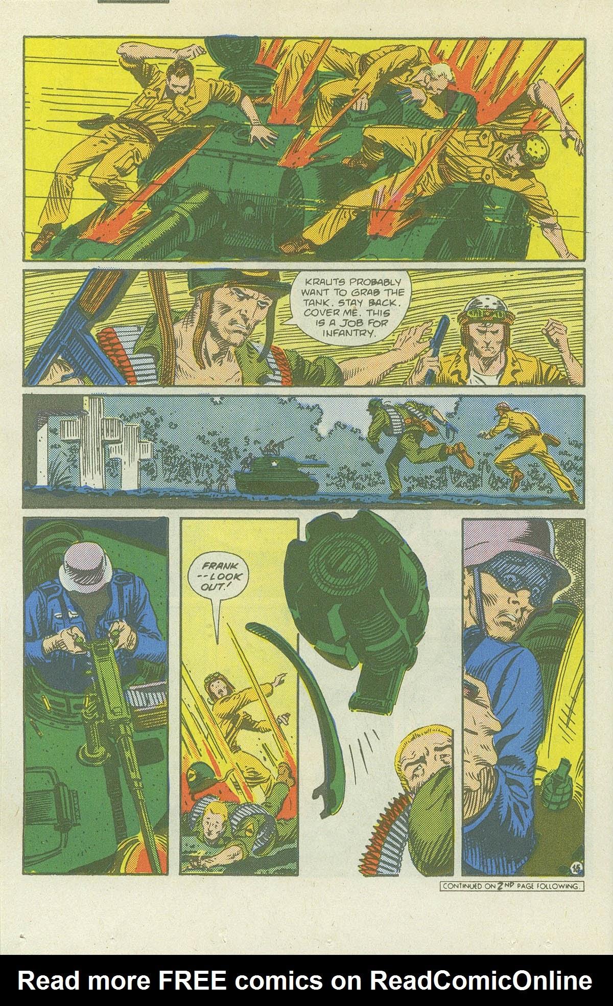 Read online Sgt. Rock comic -  Issue #419 - 20